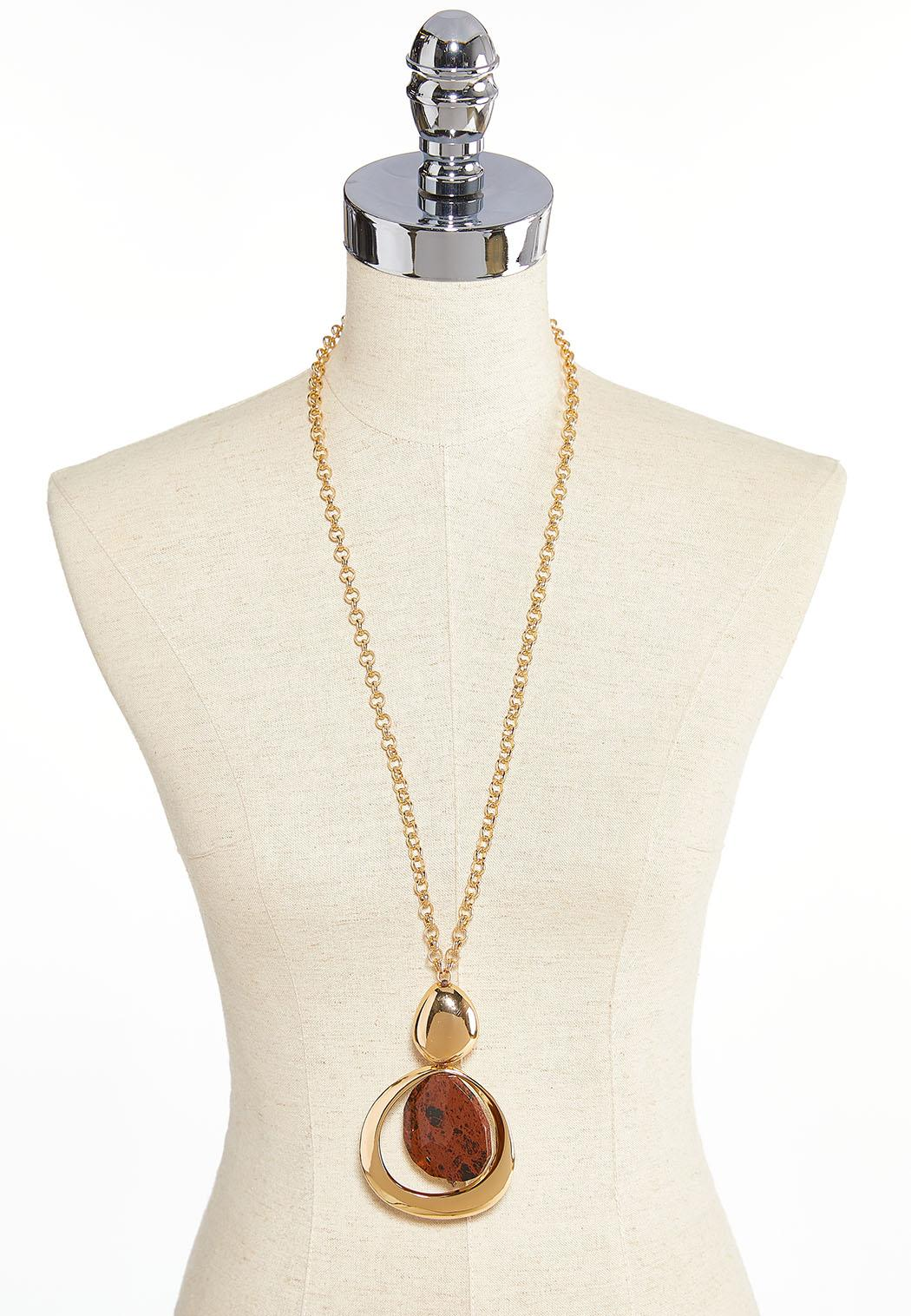 Abstract Pendant Necklace (Item #43896483)