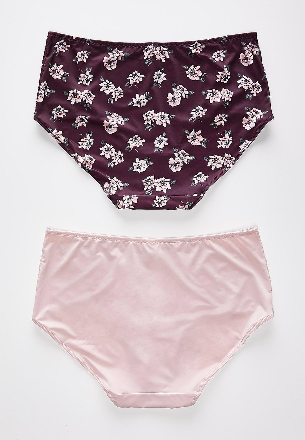 Floral Lace High Waist Panty Set (Item #43899090)