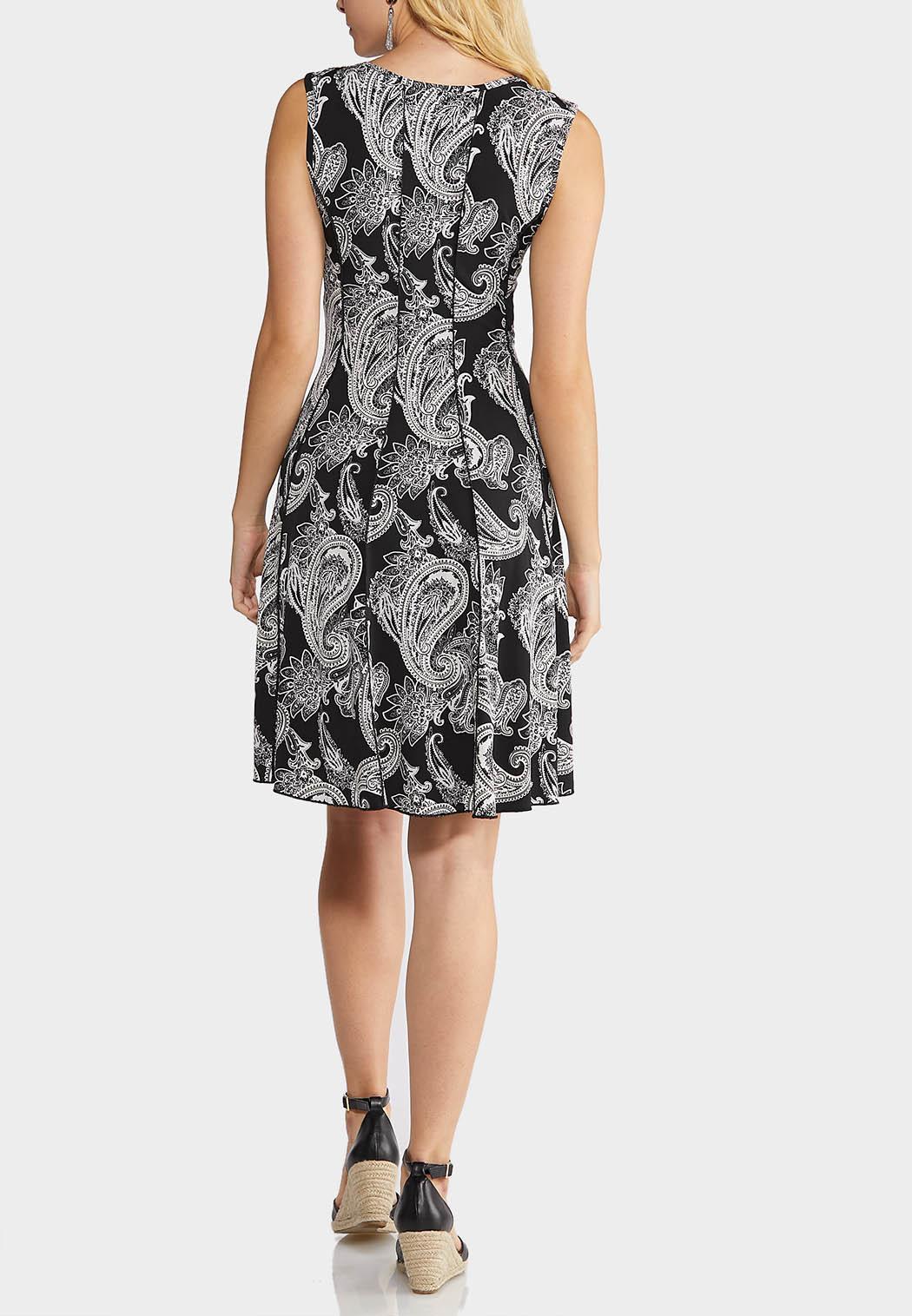 Paisley Print Hardware Dress (Item #43902776)