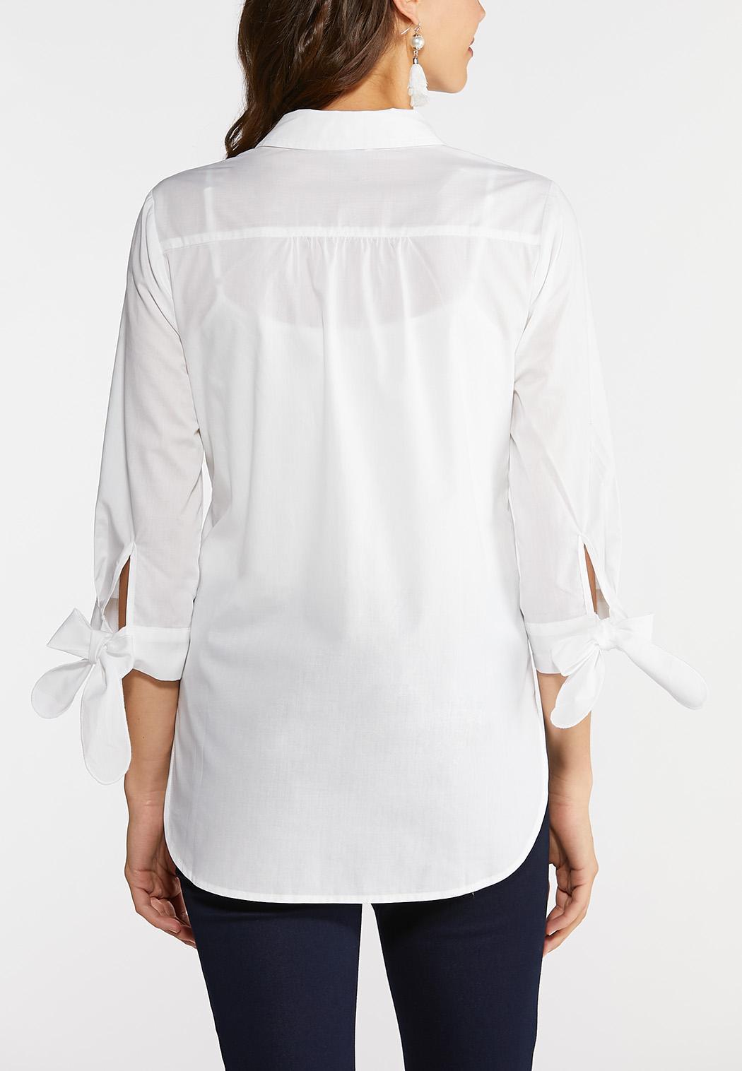 White Tie Sleeve Tunic (Item #43904063)