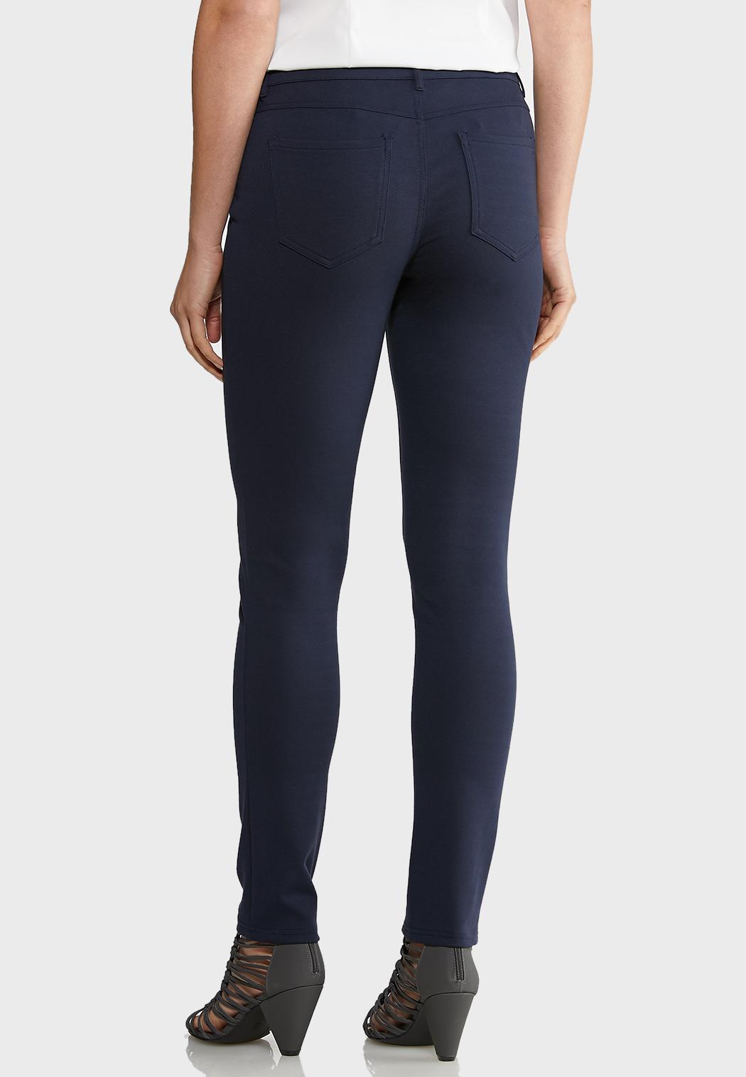 Skinny Leg Ponte Pants (Item #43917604)