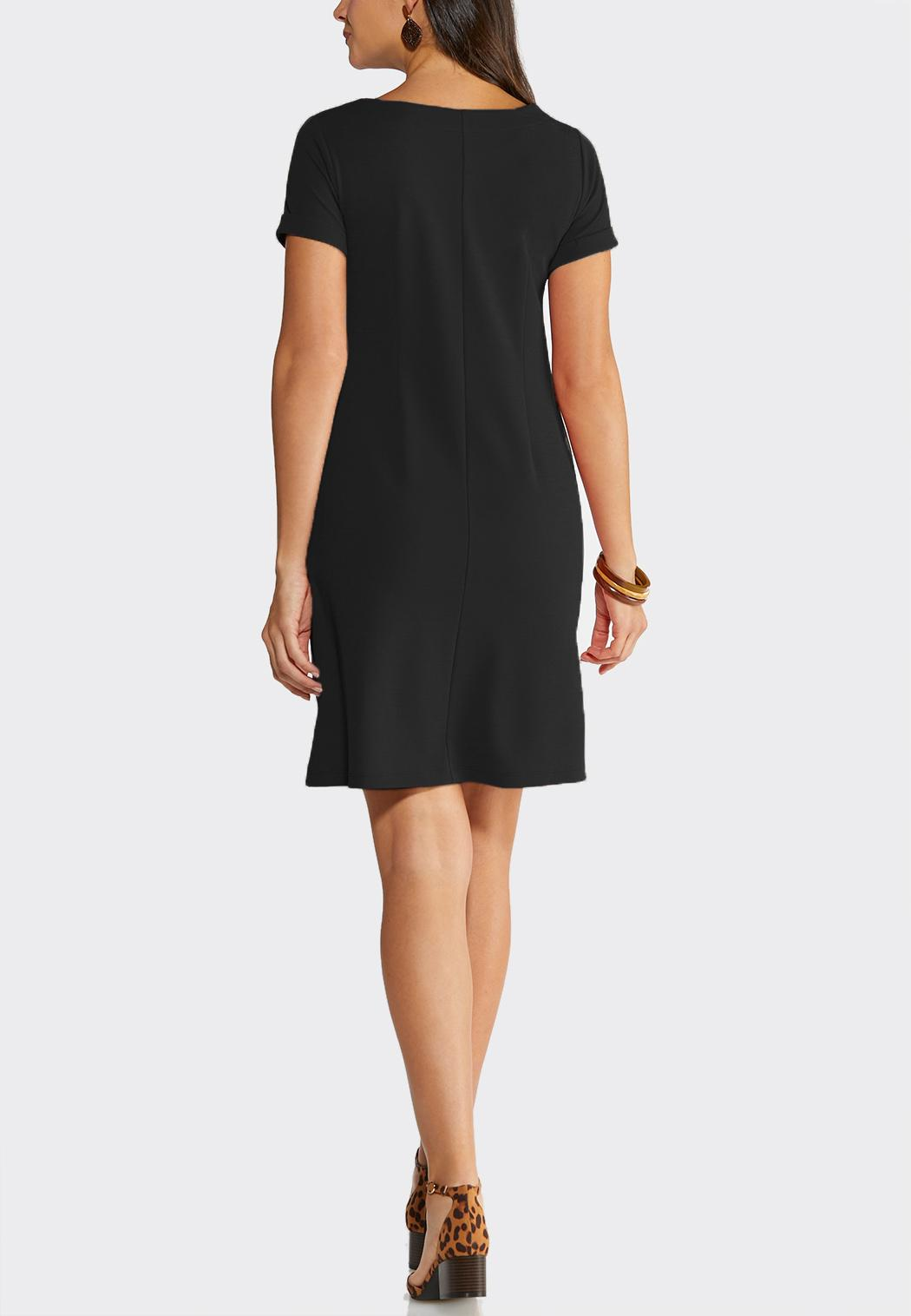 A-Line Button Dress (Item #43919154)