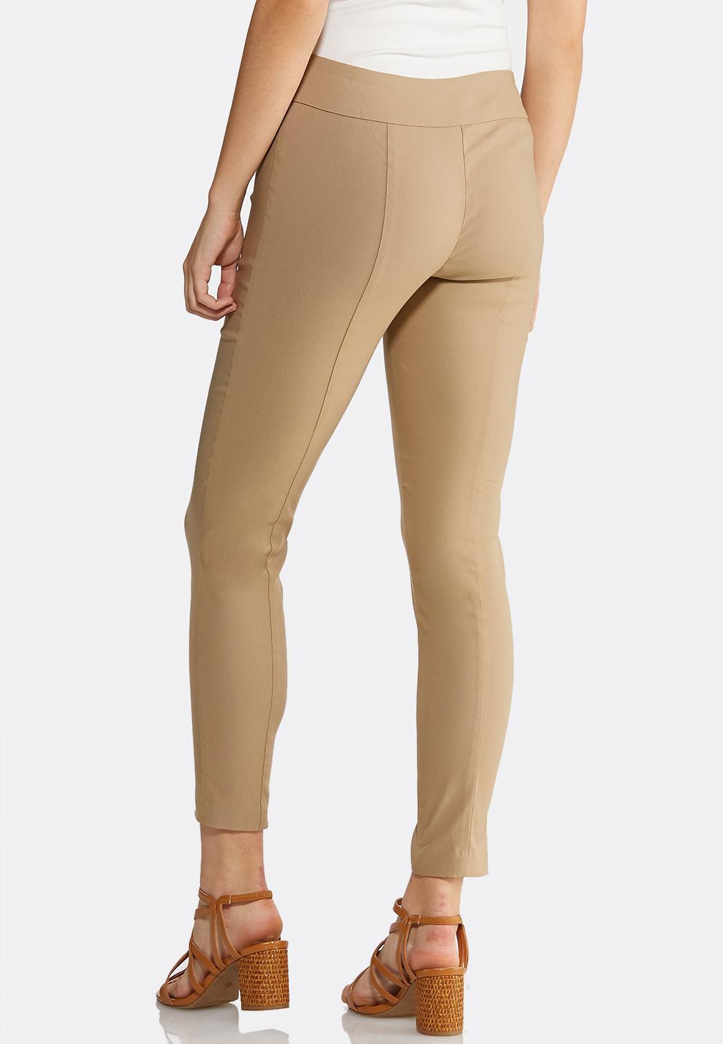 Pull-On Solid Slim Pants (Item #43925885)