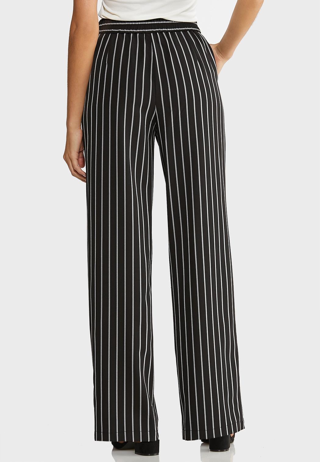 Petite Belted Wide Leg Pants (Item #43927072)