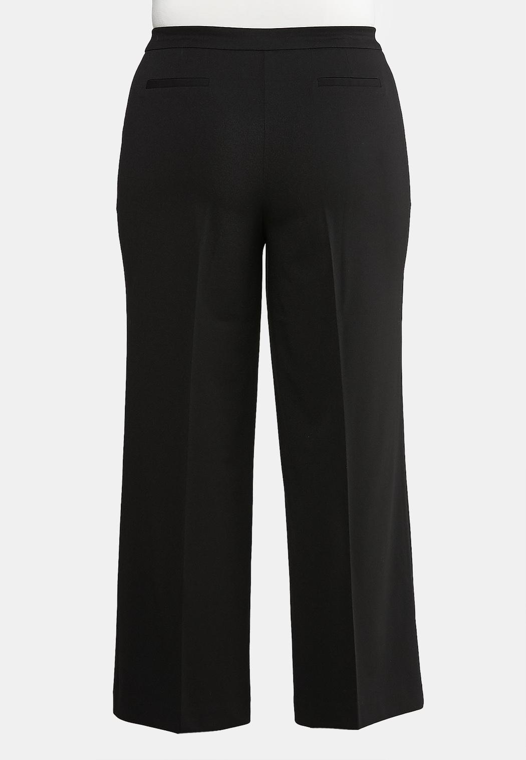Plus Size Pull-On Trouser Pants (Item #43940768)