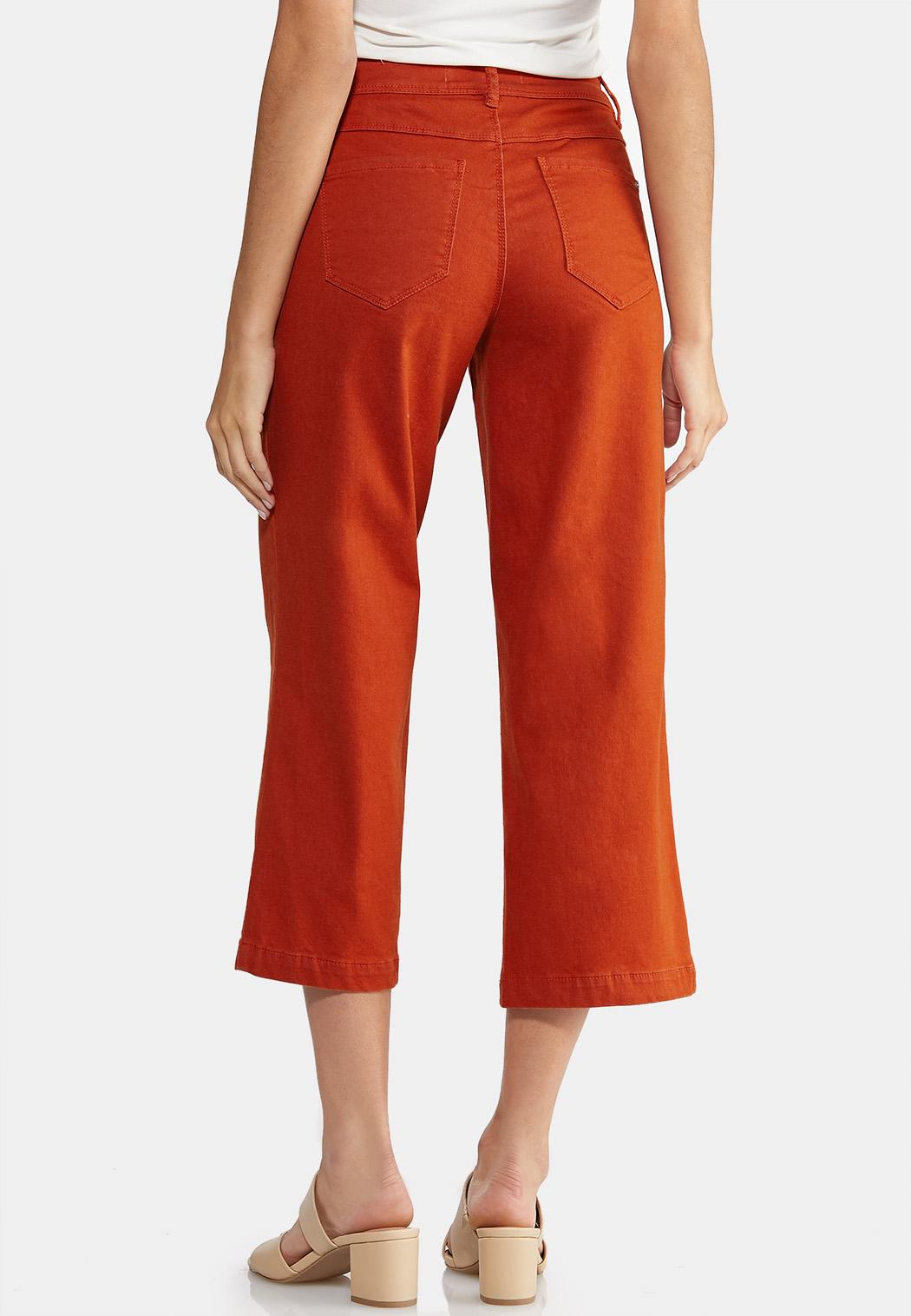 Wide Leg Colored Jeans (Item #43946052)