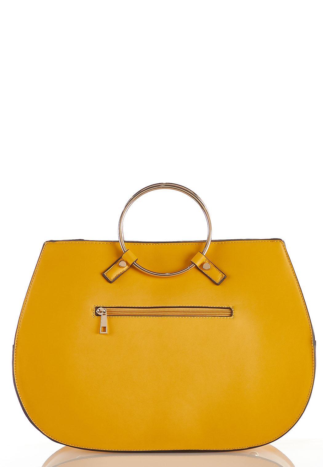 Ring Handle Corded Handbag (Item #43946834)