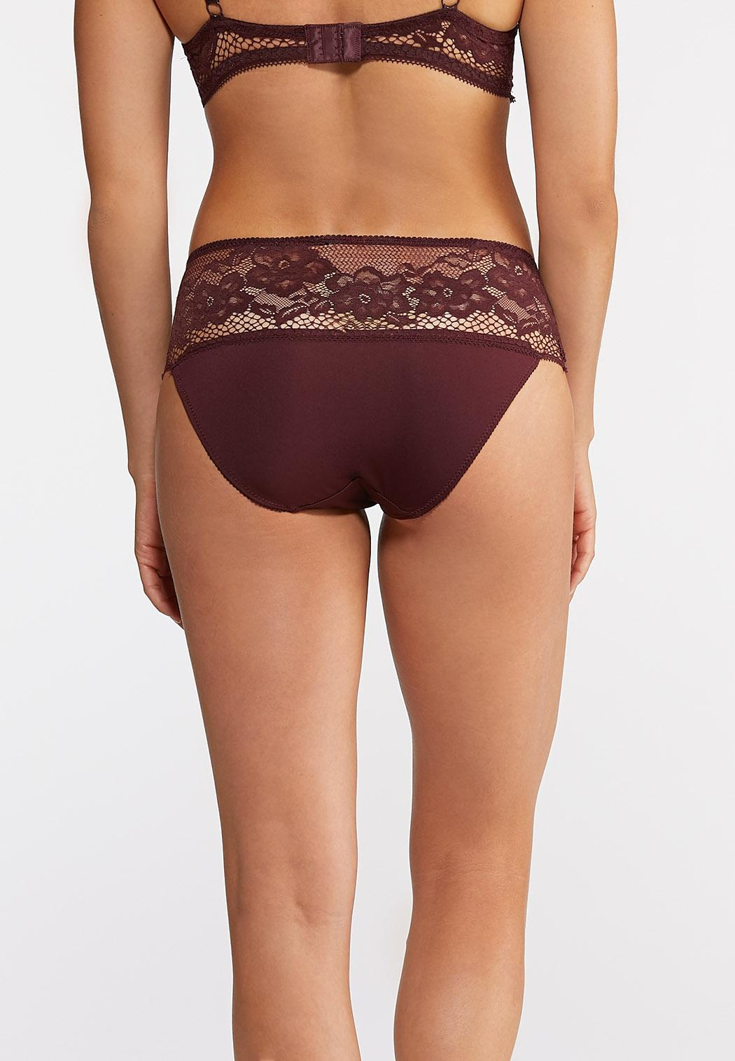 Floral Lace Hipster Panty Set (Item #43946857)