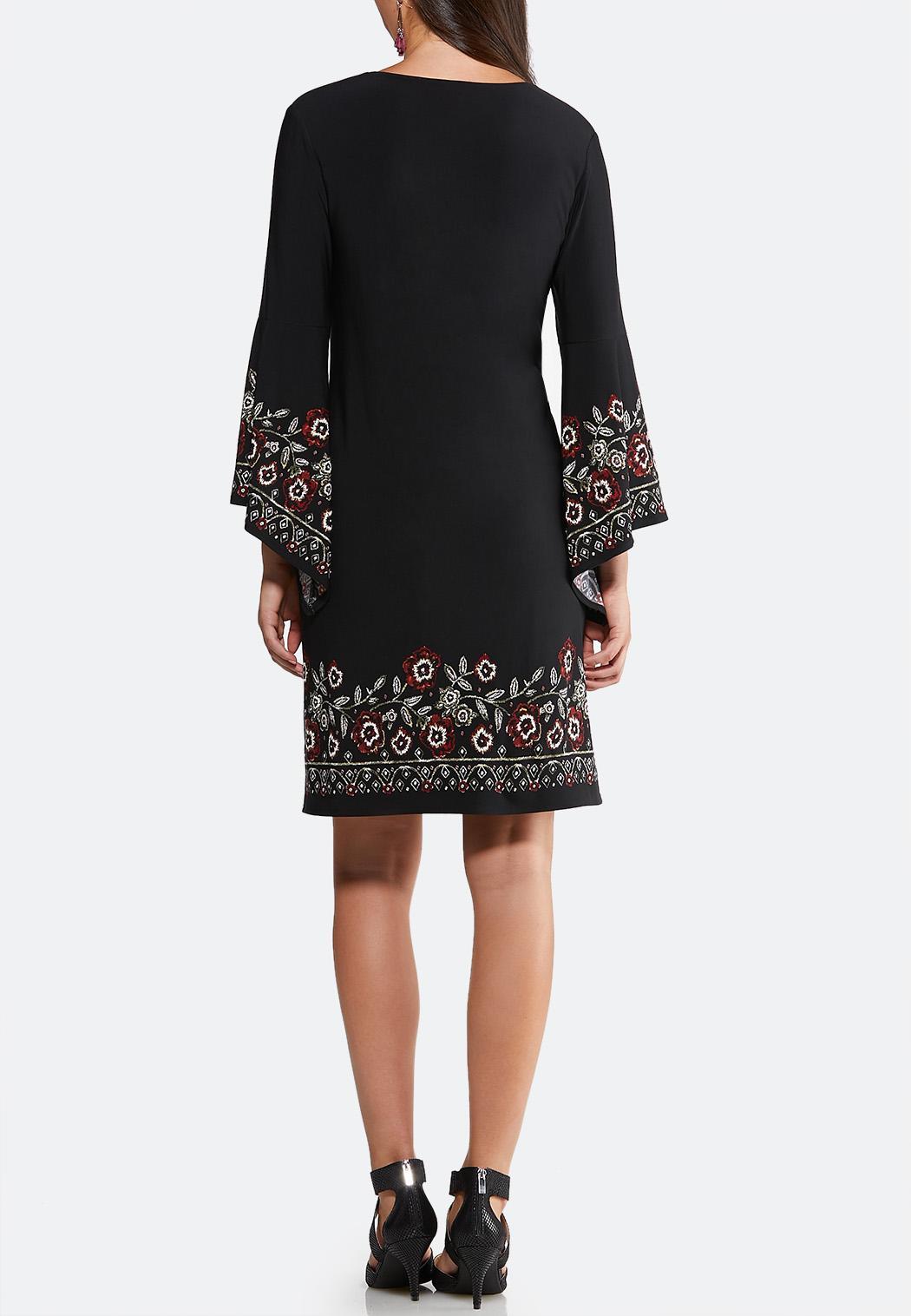 Floral Puff Swing Dress (Item #43947606)