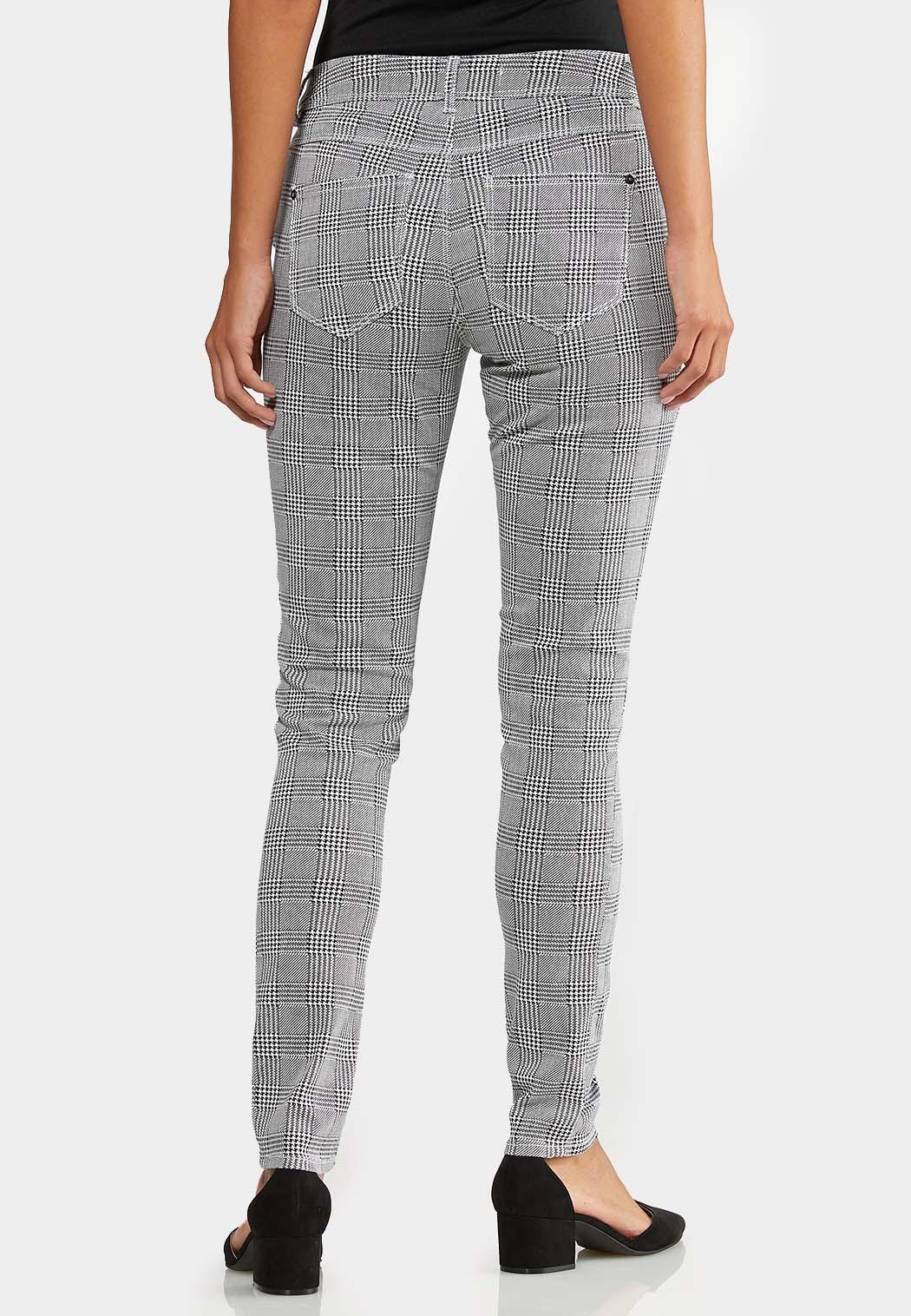 Houndstooth Skinny Jeans (Item #43949105)