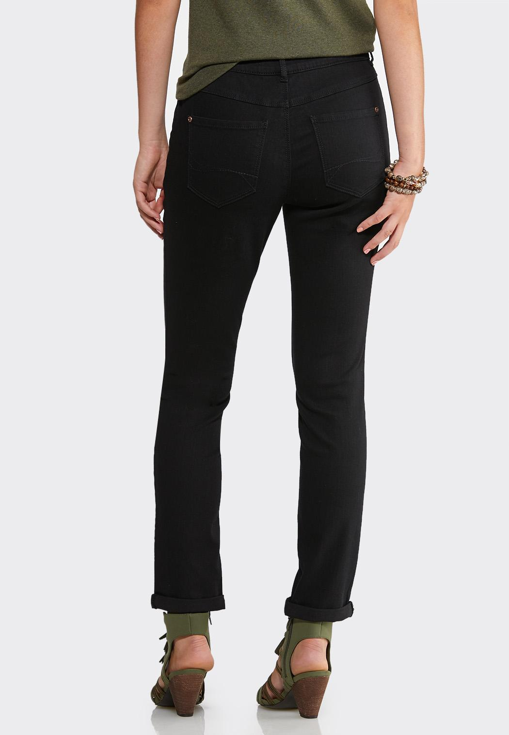Black Skinny Ankle Jeans (Item #43949294)