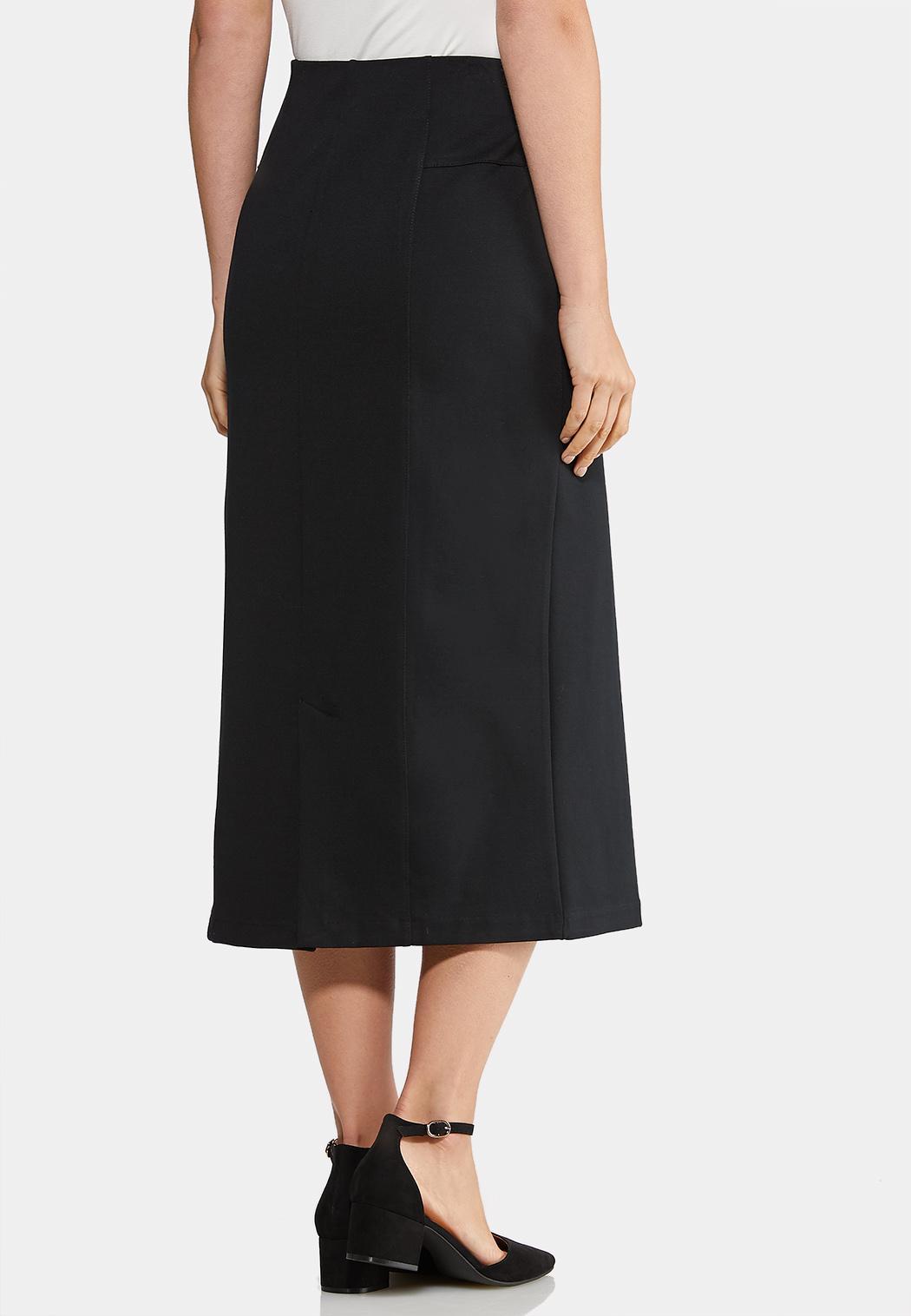 Ponte Long Midi Skirt (Item #43955436)