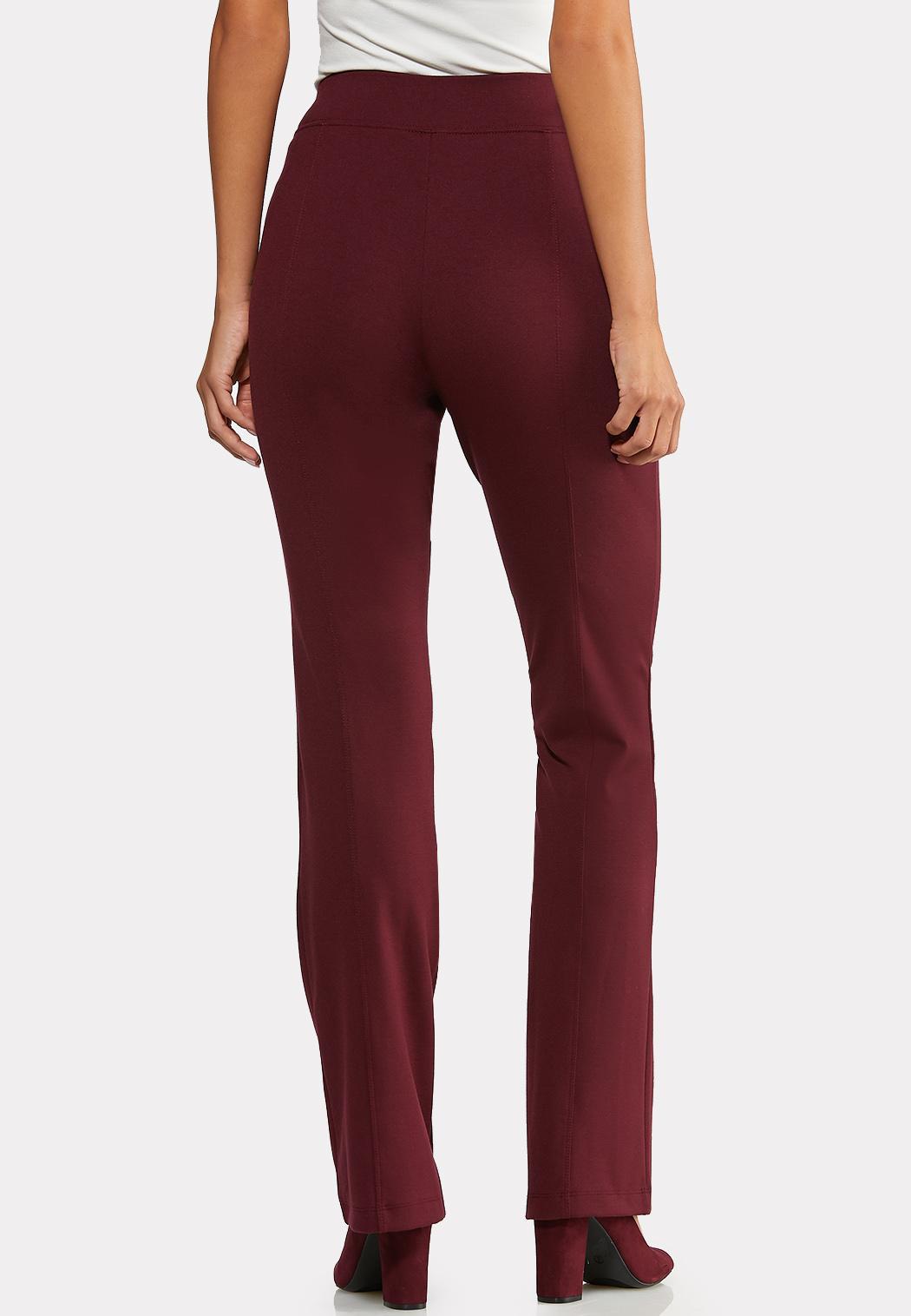 Petite Slim Bootcut Ponte Pants (Item #43956799)