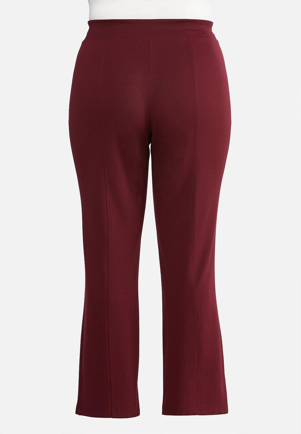 Plus Petite Slim Bootcut Ponte Pants (Item #43956866)