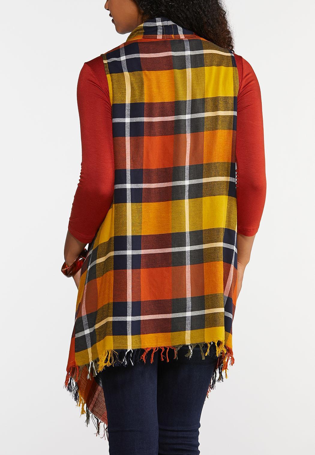 Plus Size Autumn Harvest Vest (Item #43958120)