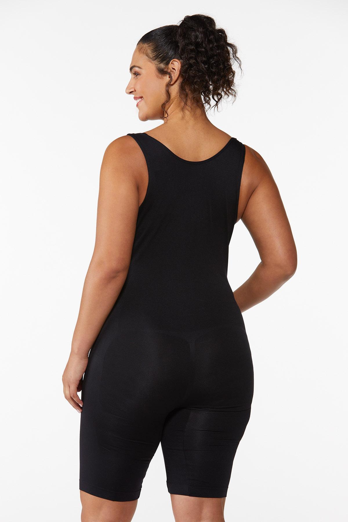 Plus Size Seamless Shaping Bodysuit (Item #43958333)