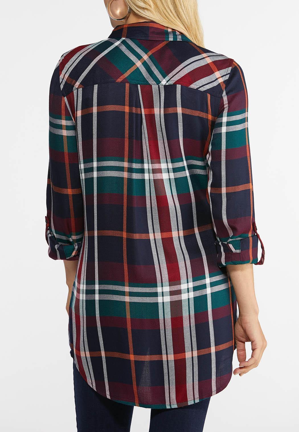 Autumnal Plaid Shirt (Item #43967013)