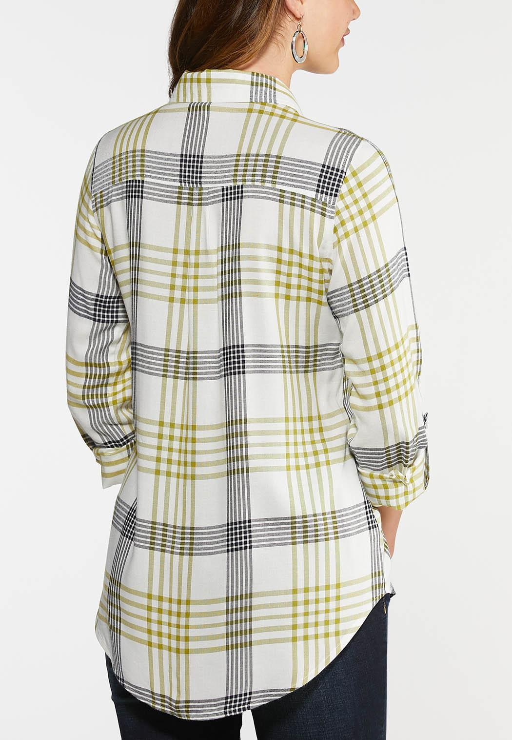 Green Plaid Shirt (Item #43967425)