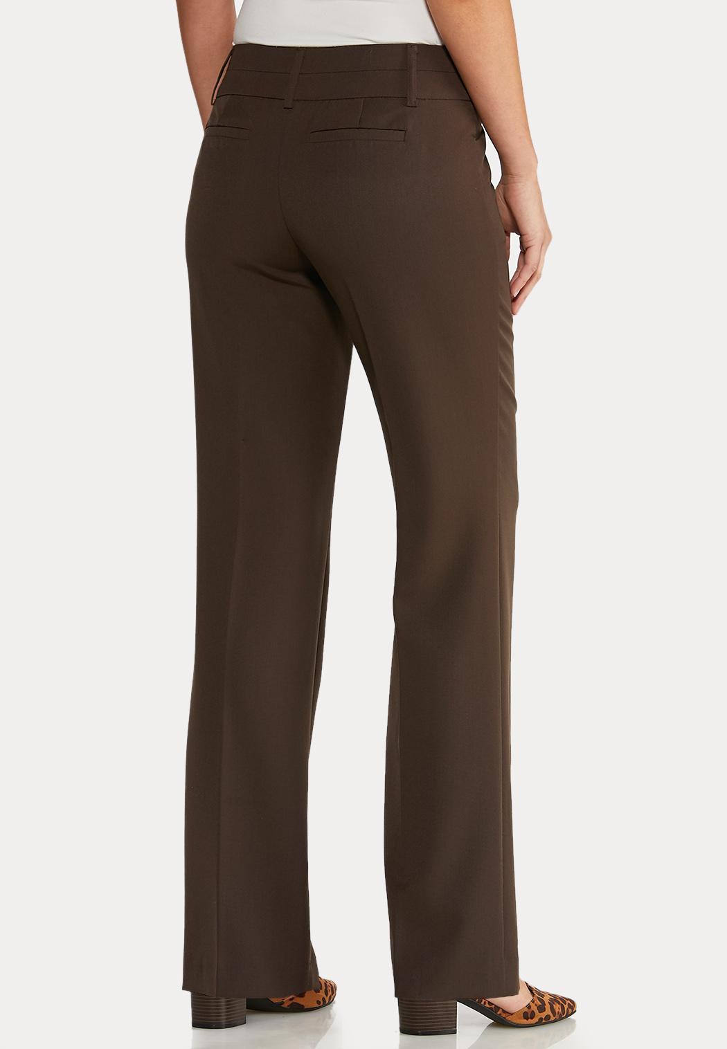 Petite Shape Enhancing Trouser Pants (Item #43967697)