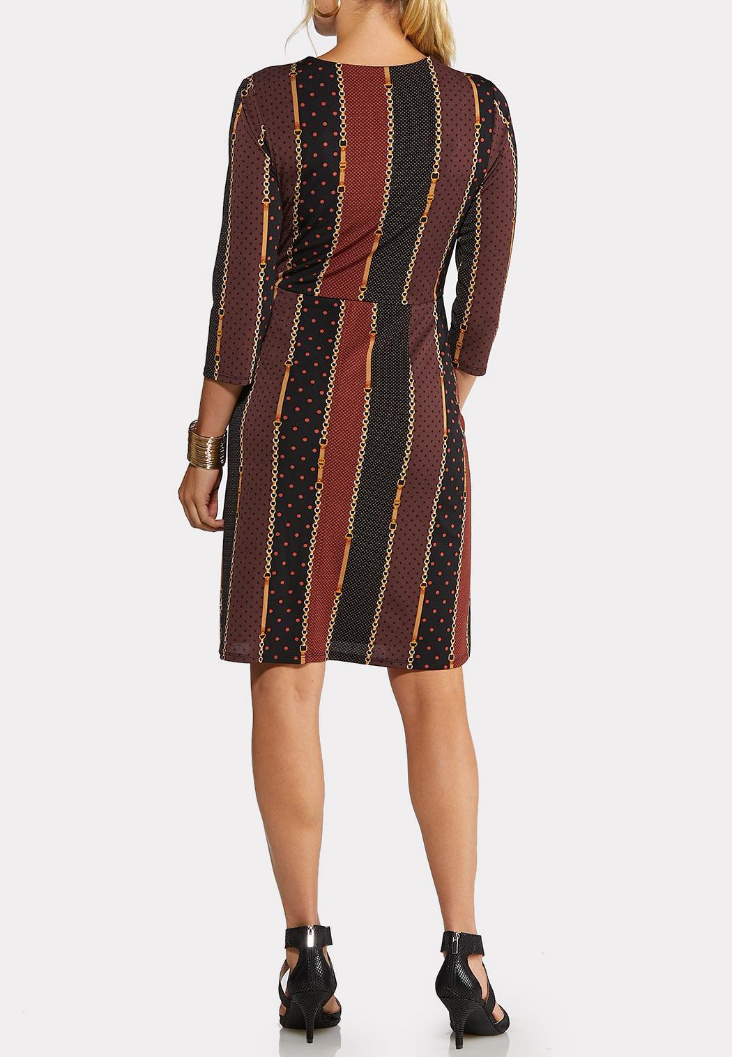 Plus Size Status Dot Wrap Dress (Item #43979728)