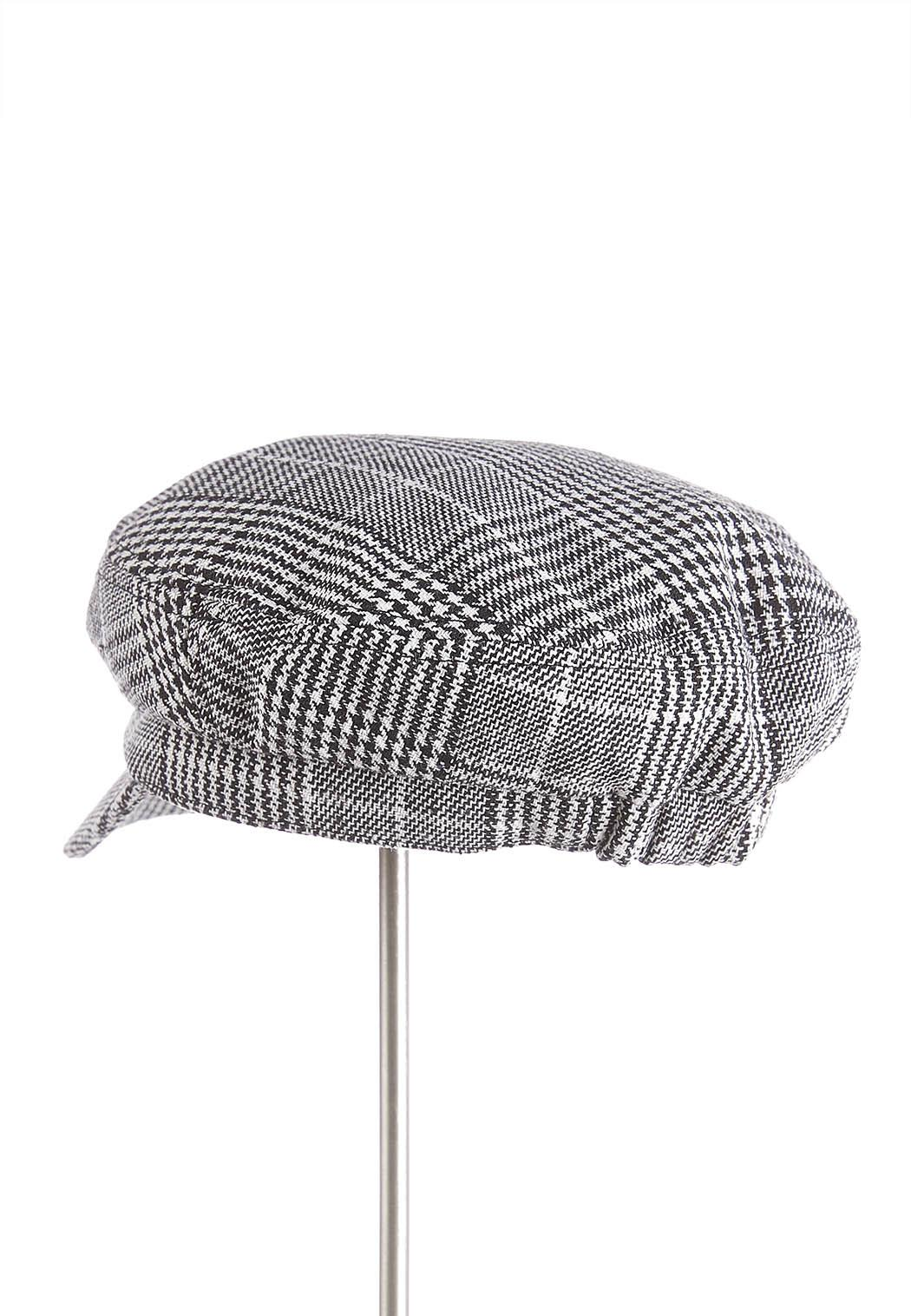 Houndstooth Cabbie Hat (Item #43981109)