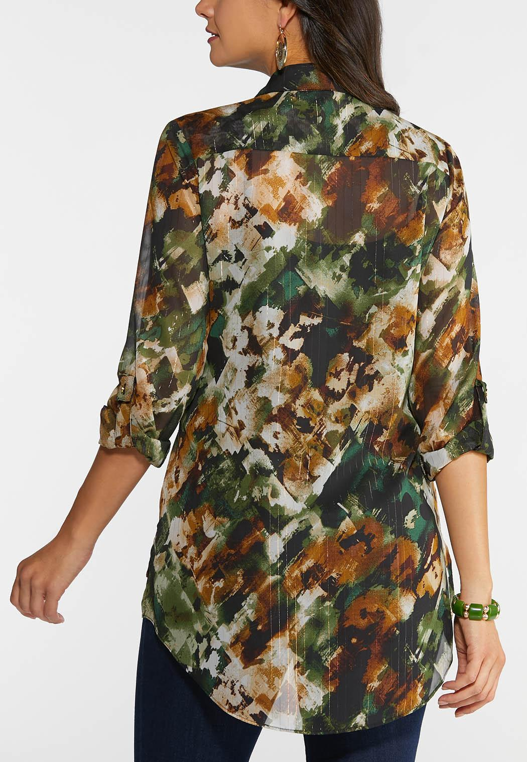 Camo Shimmer Top (Item #43982337)