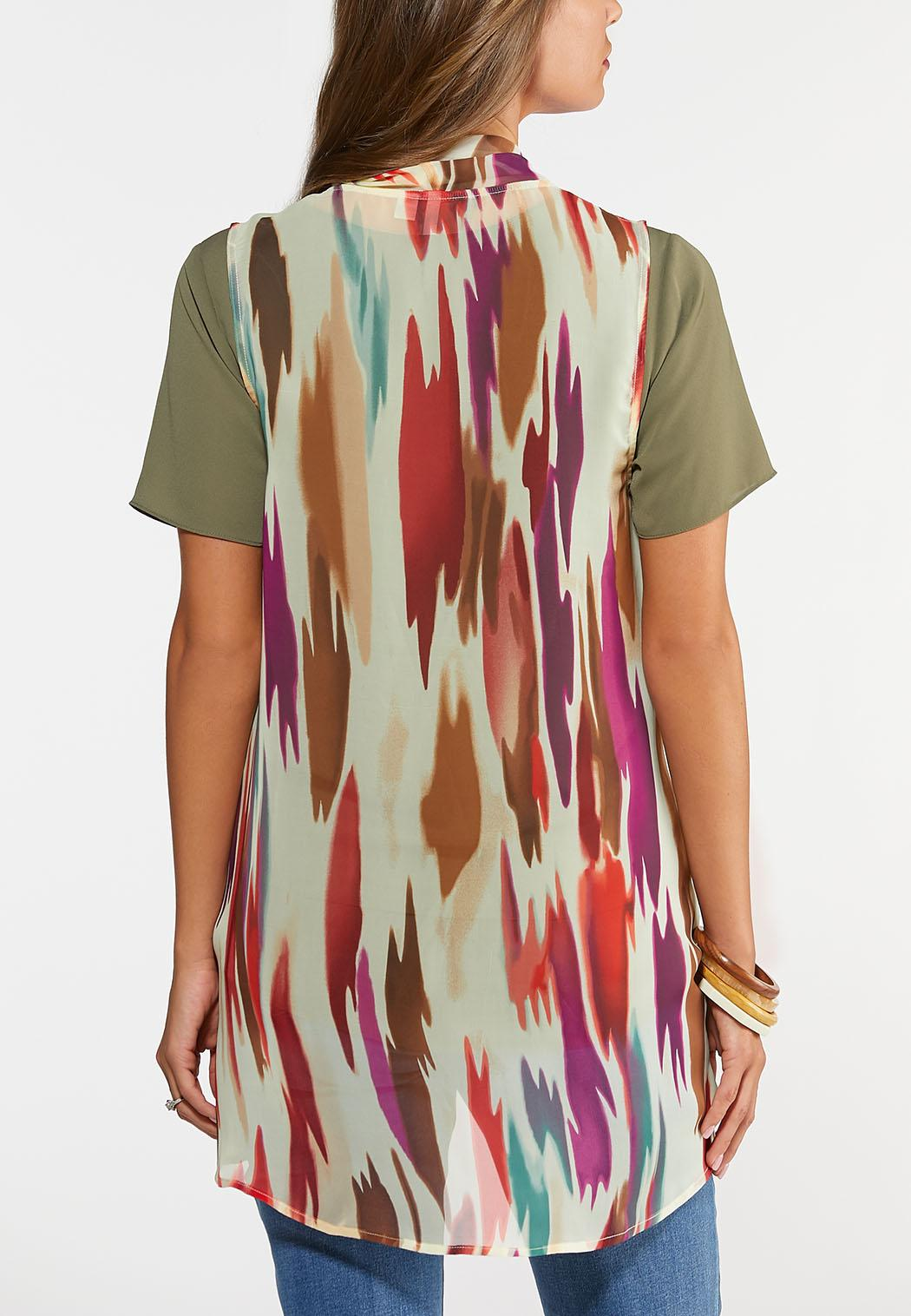Colorful Waterfall Vest (Item #43985893)