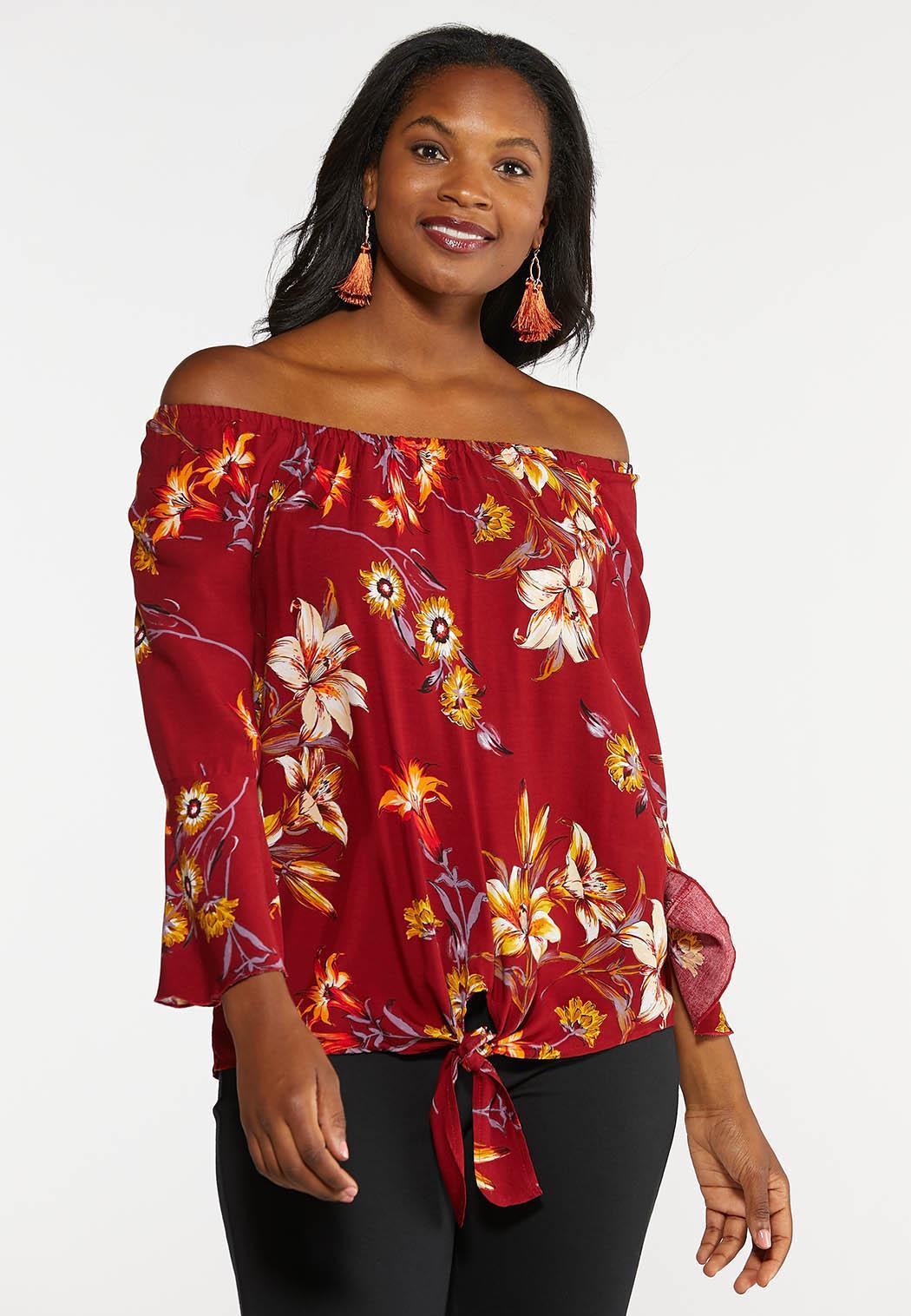 Floral Harvest Off Shoulder Top (Item #43988070)