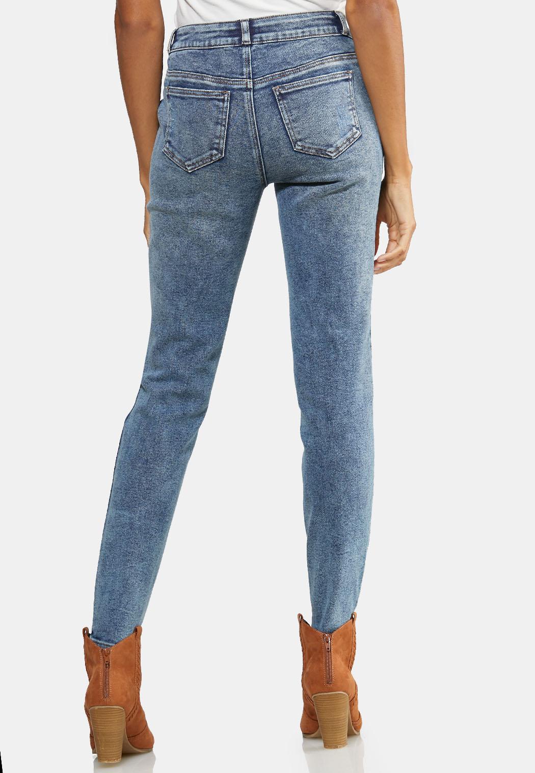 Acid Wash Skinny Jeans (Item #43991651)
