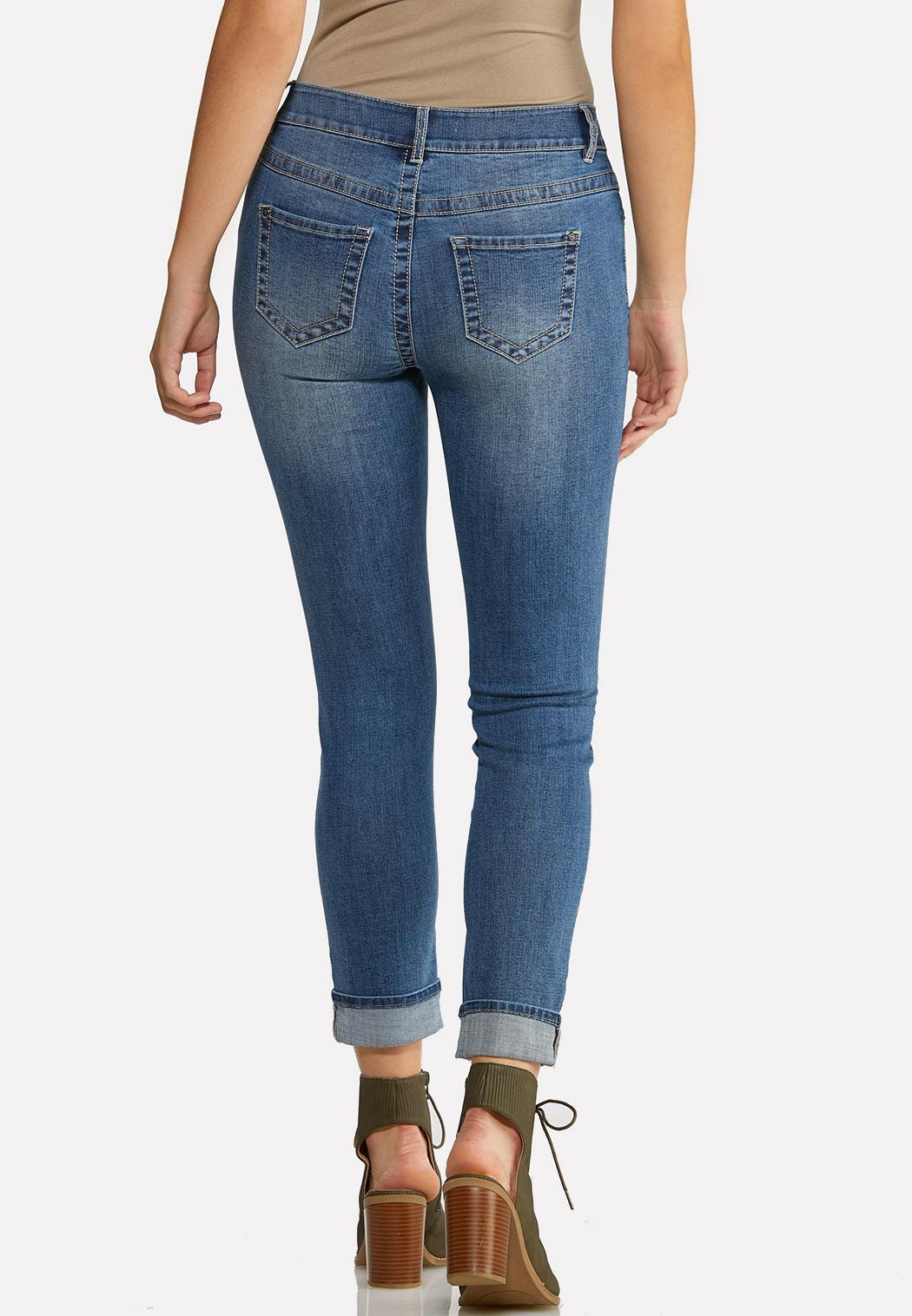 Camo Patch Skinny Jeans (Item #43992130)
