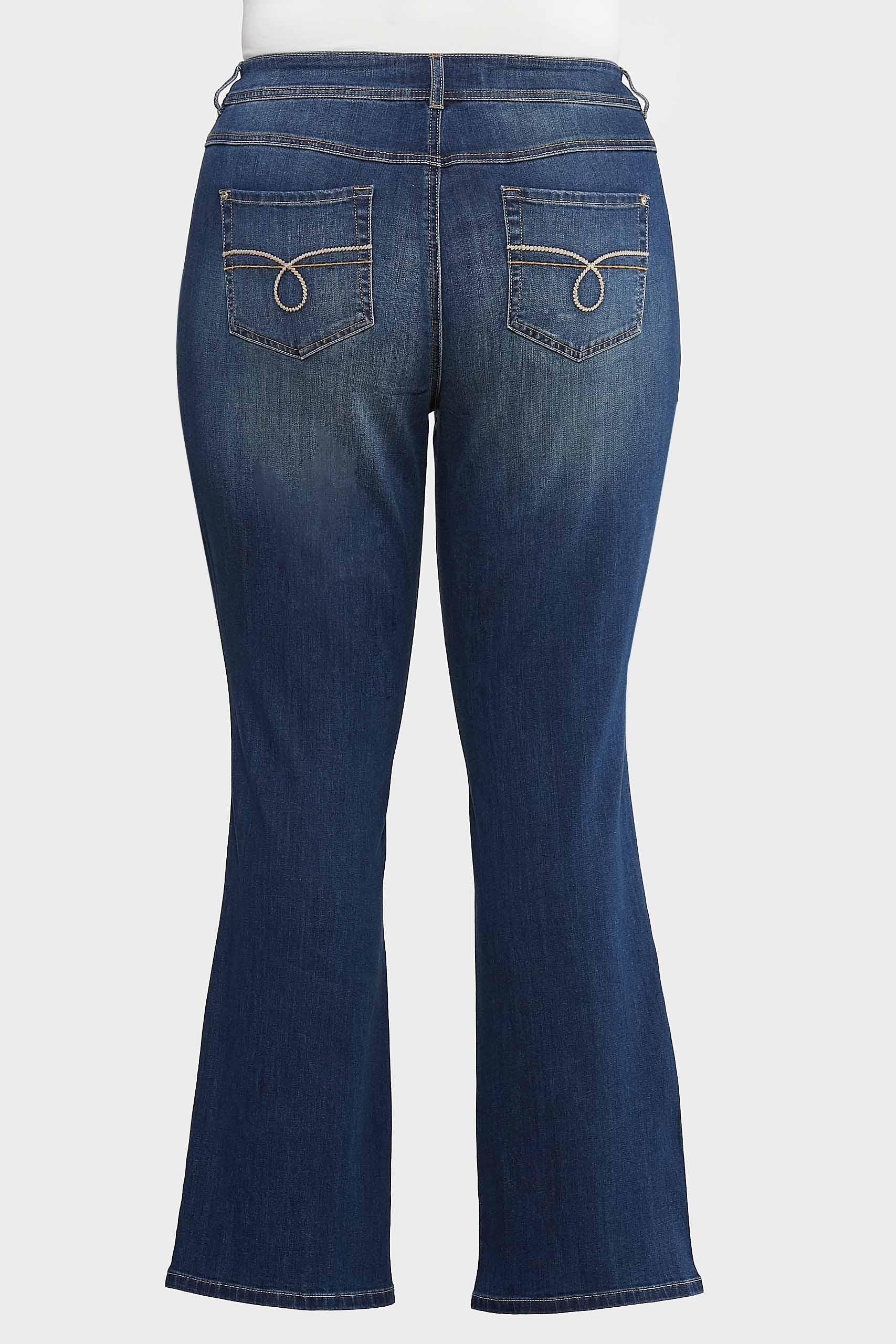 Plus Size Bootcut Jeans (Item #43993103)