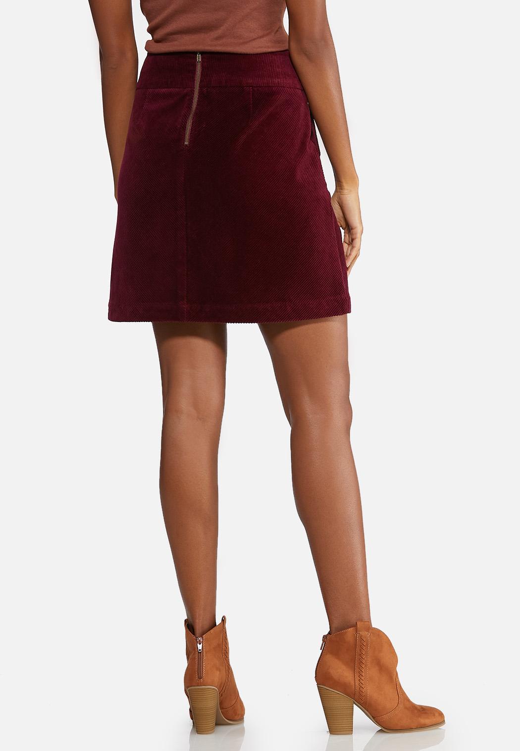 Corduroy Mini Skirt (Item #43993553)