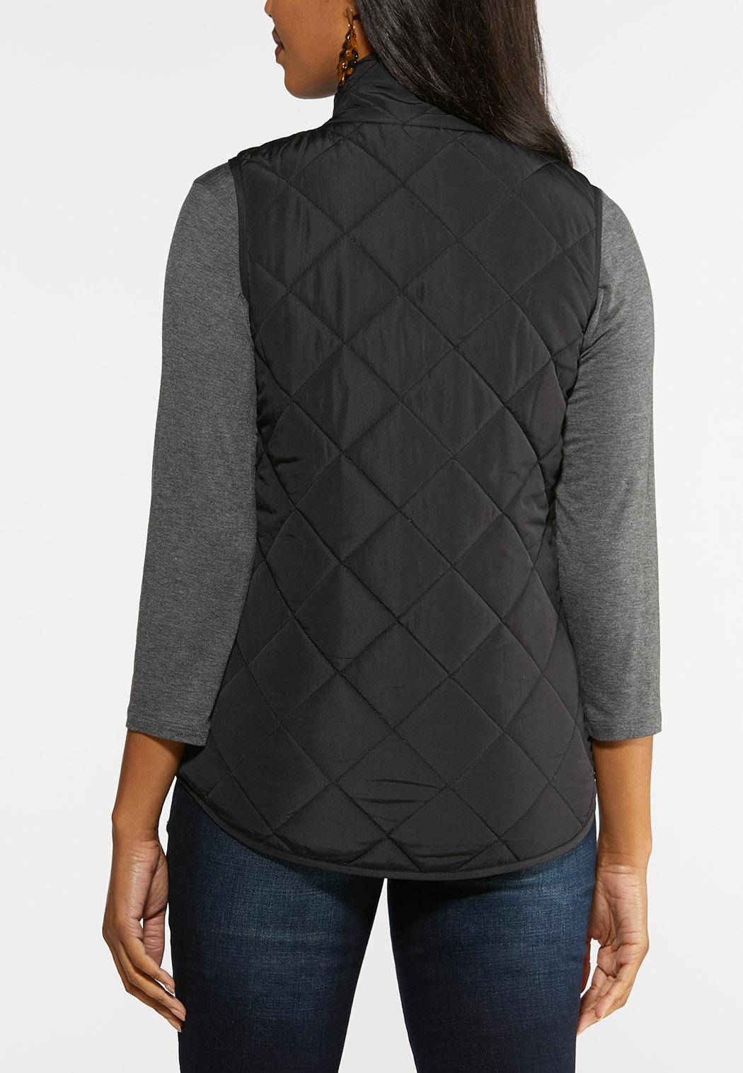 Quilted Puffer Vest (Item #43993979)