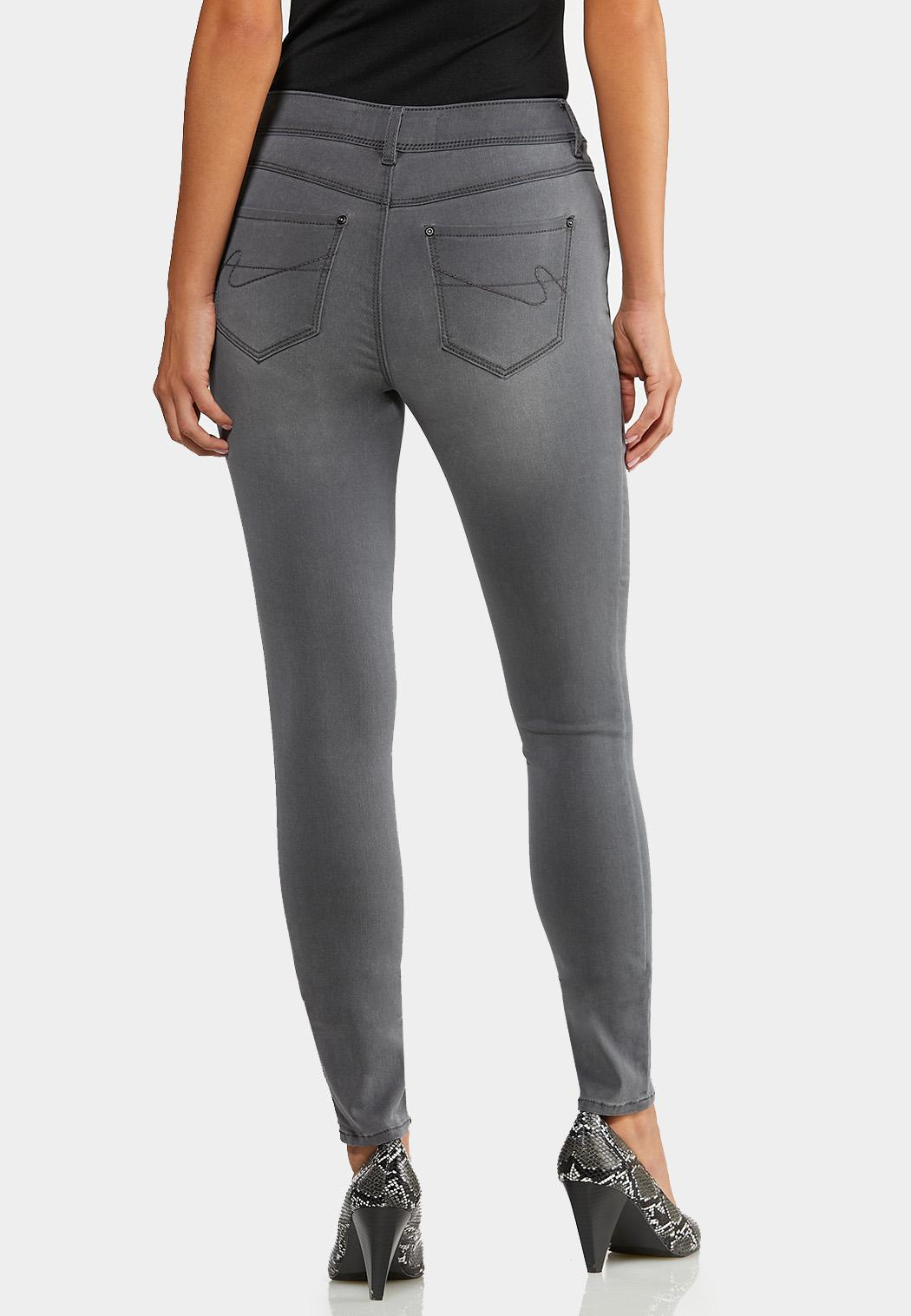 Gray Wash Jeggings (Item #43994167)