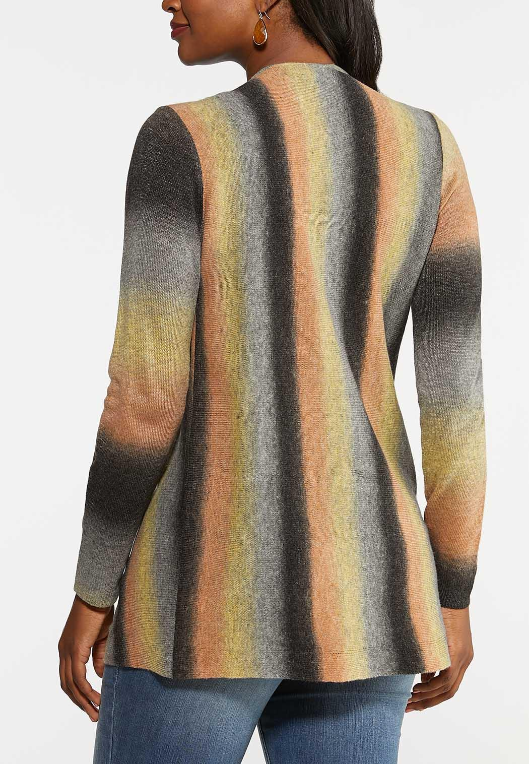 Ombre Stripe Convertible Sweater (Item #43994434)