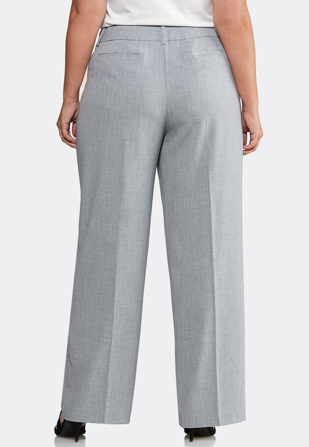 Plus Extended Curvy Shape Enhancing Trouser Pants (Item #43995279)