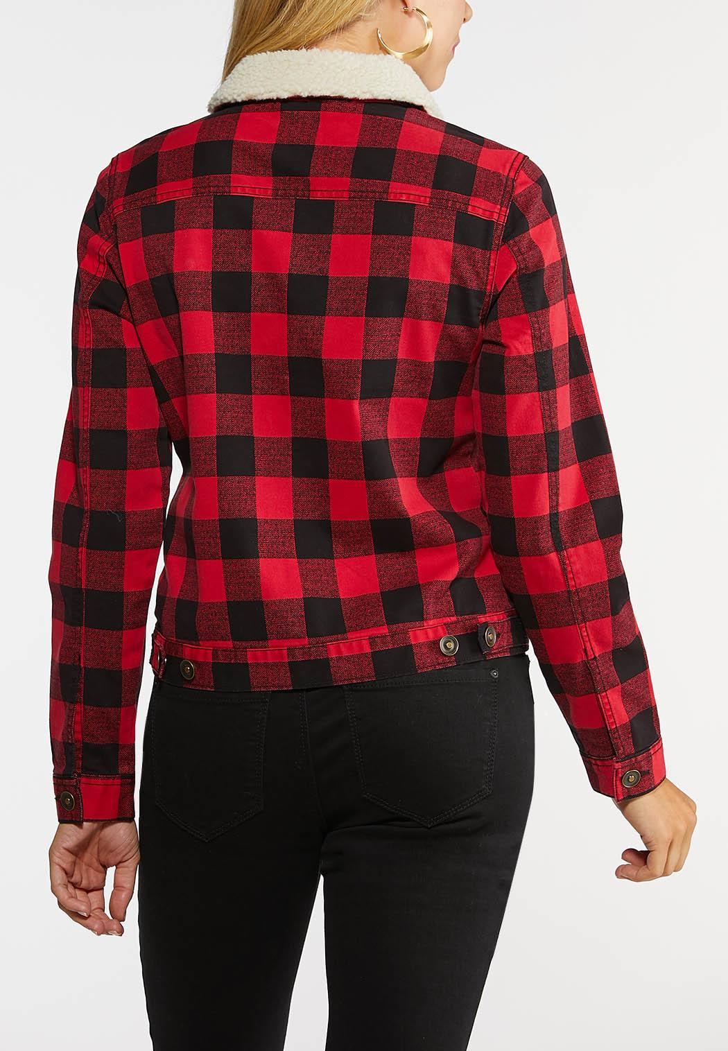 Sherpa Plaid Jacket (Item #43997630)