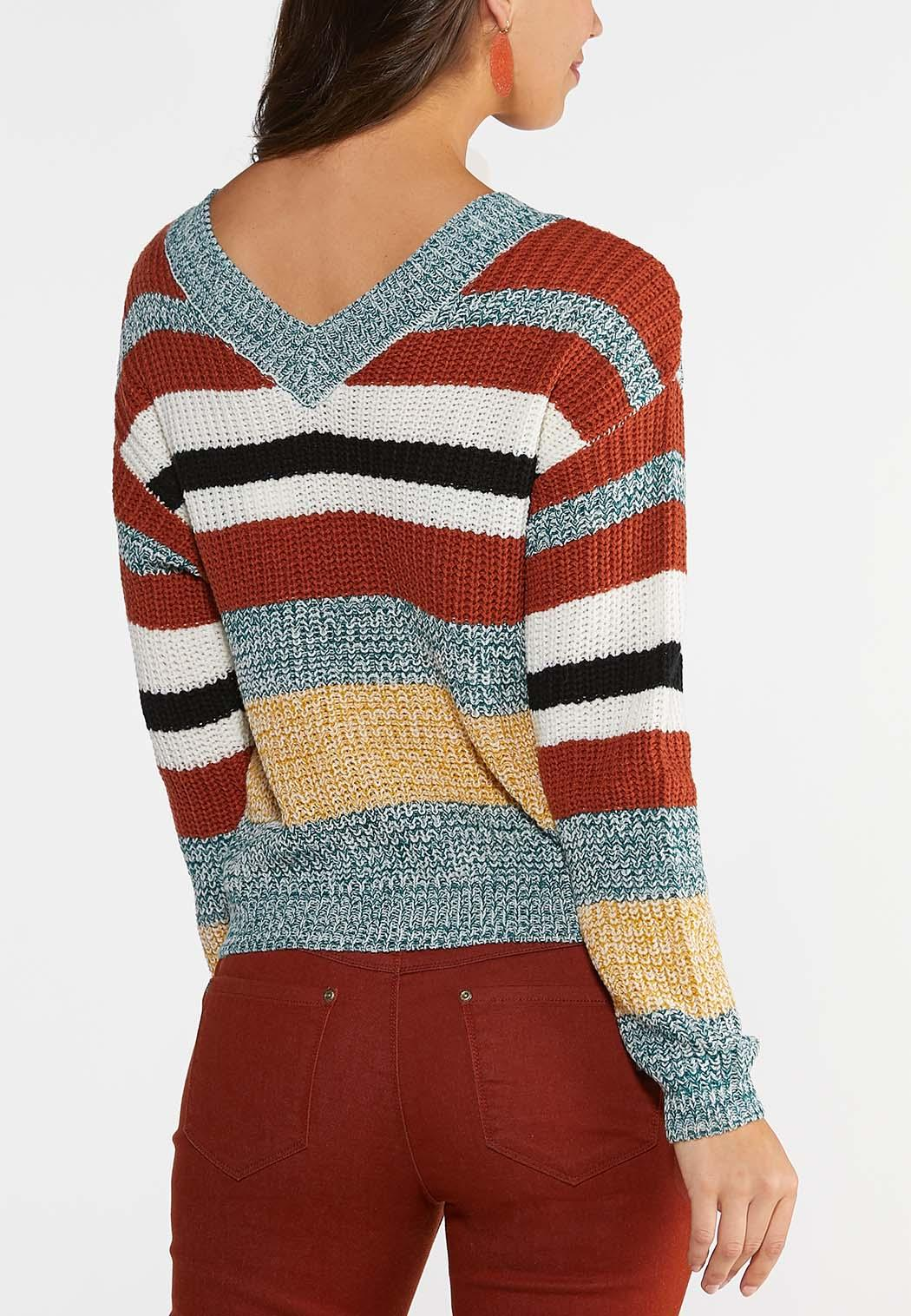 Striped Pullover Sweater (Item #43999707)