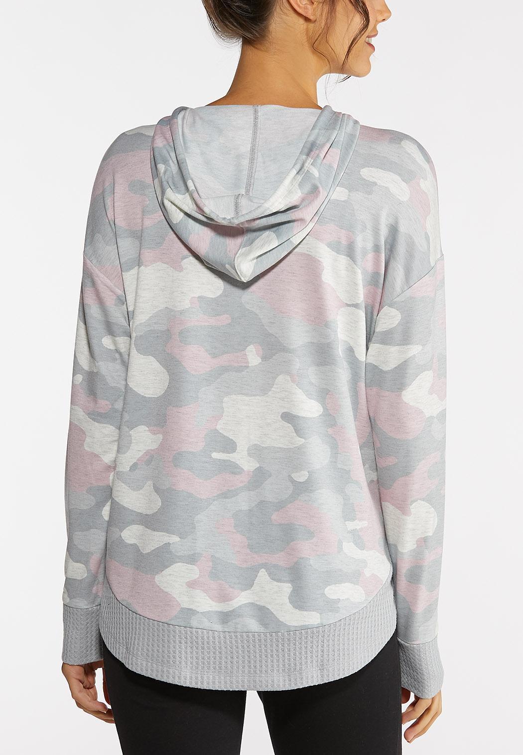 Blush Camo Sweatshirt (Item #44006014)