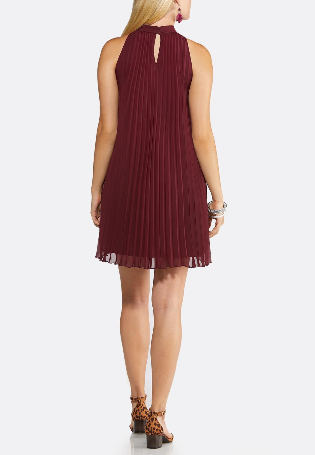 Pleated Swing Dress (Item #44006911)