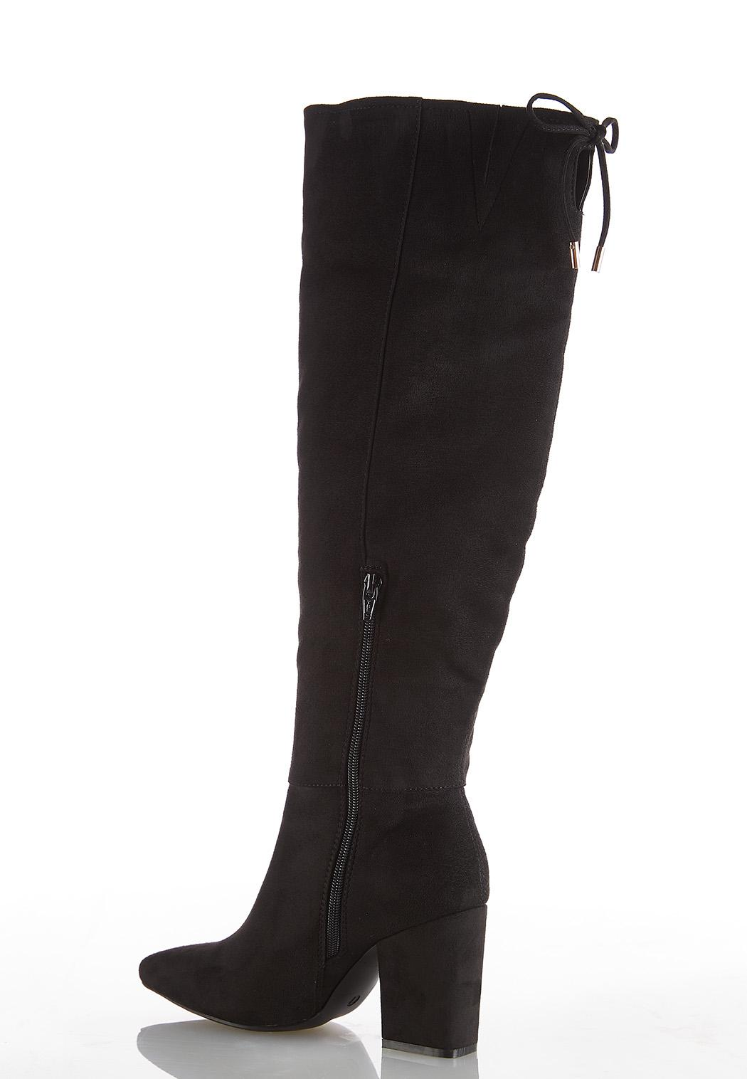 Faux Suede Tall Boots (Item #44008471)