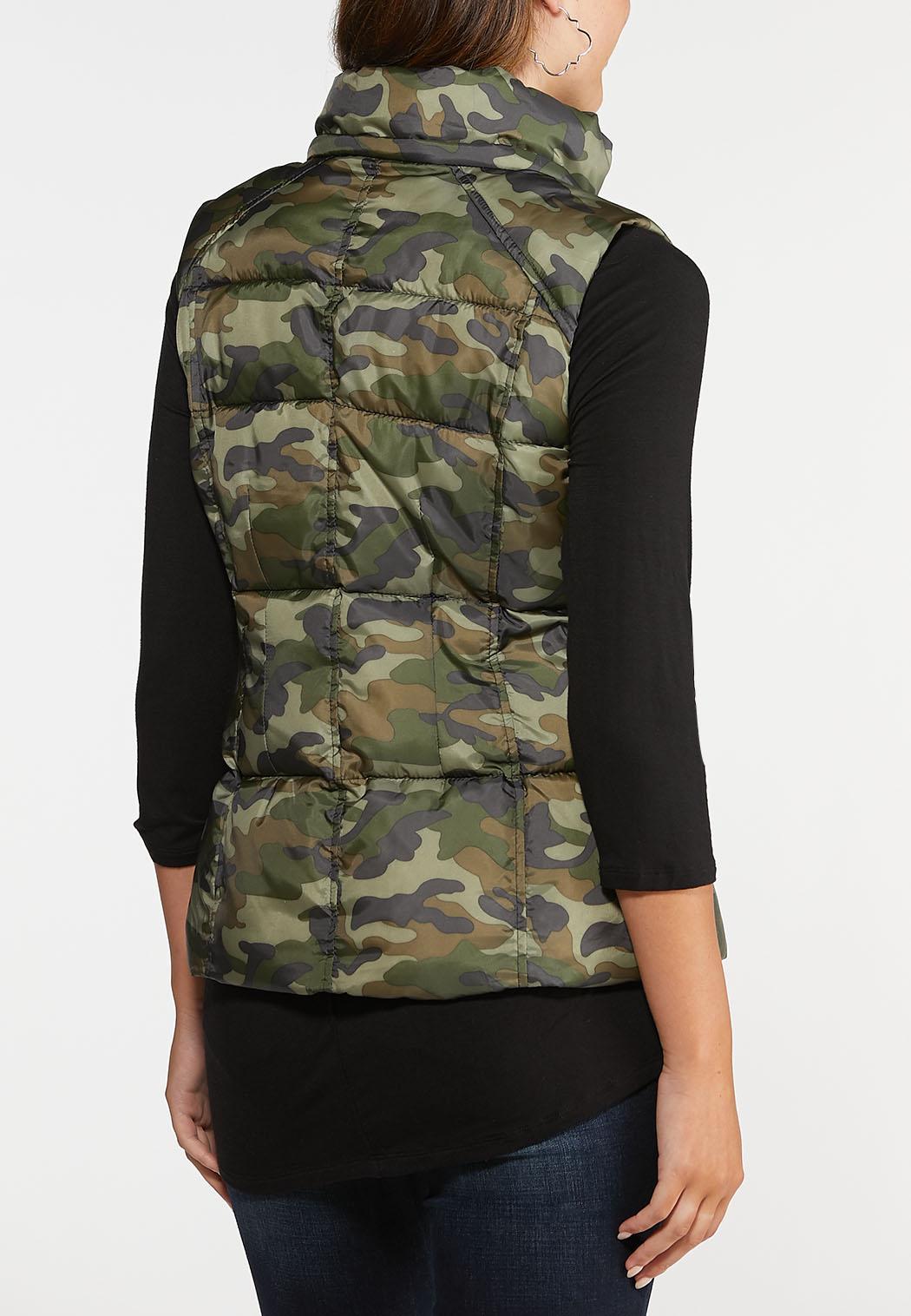 Camo Puffer Vest (Item #44008820)