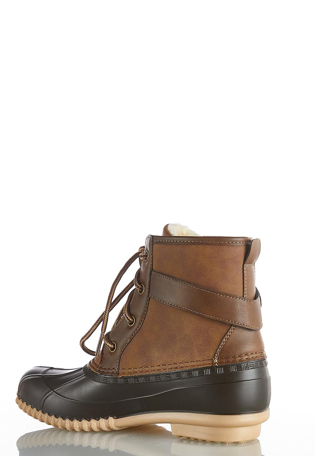 Buckle Side Duck Boots (Item #44009532)