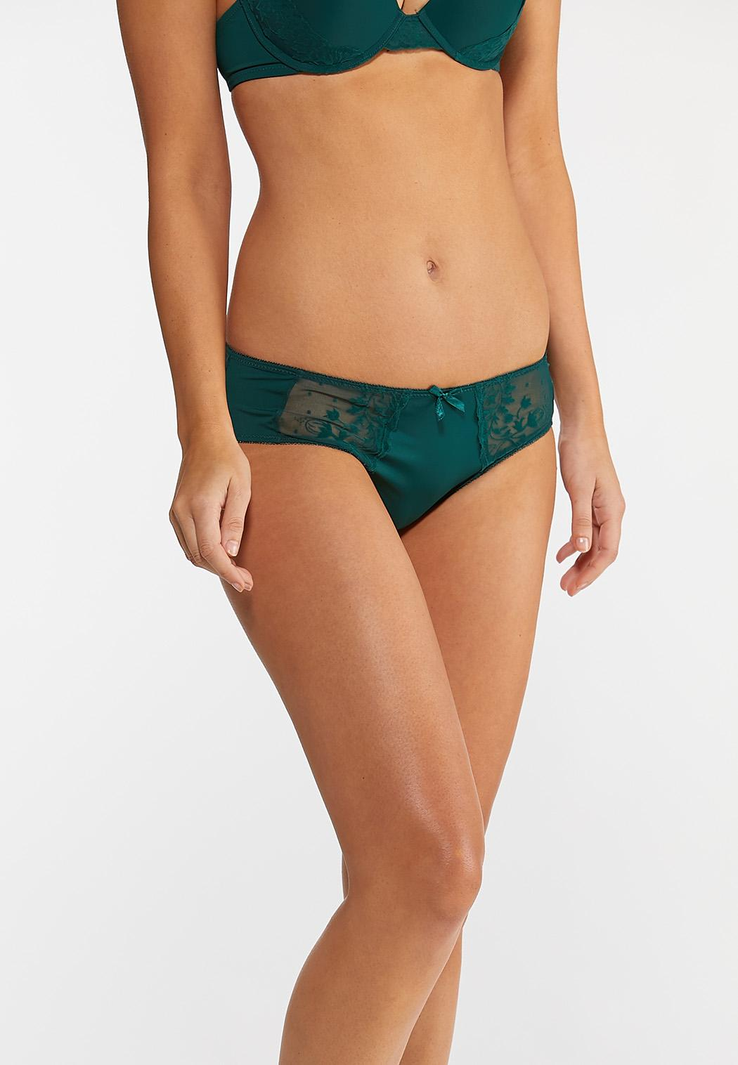 Navy And Green Panty Set (Item #44010750)