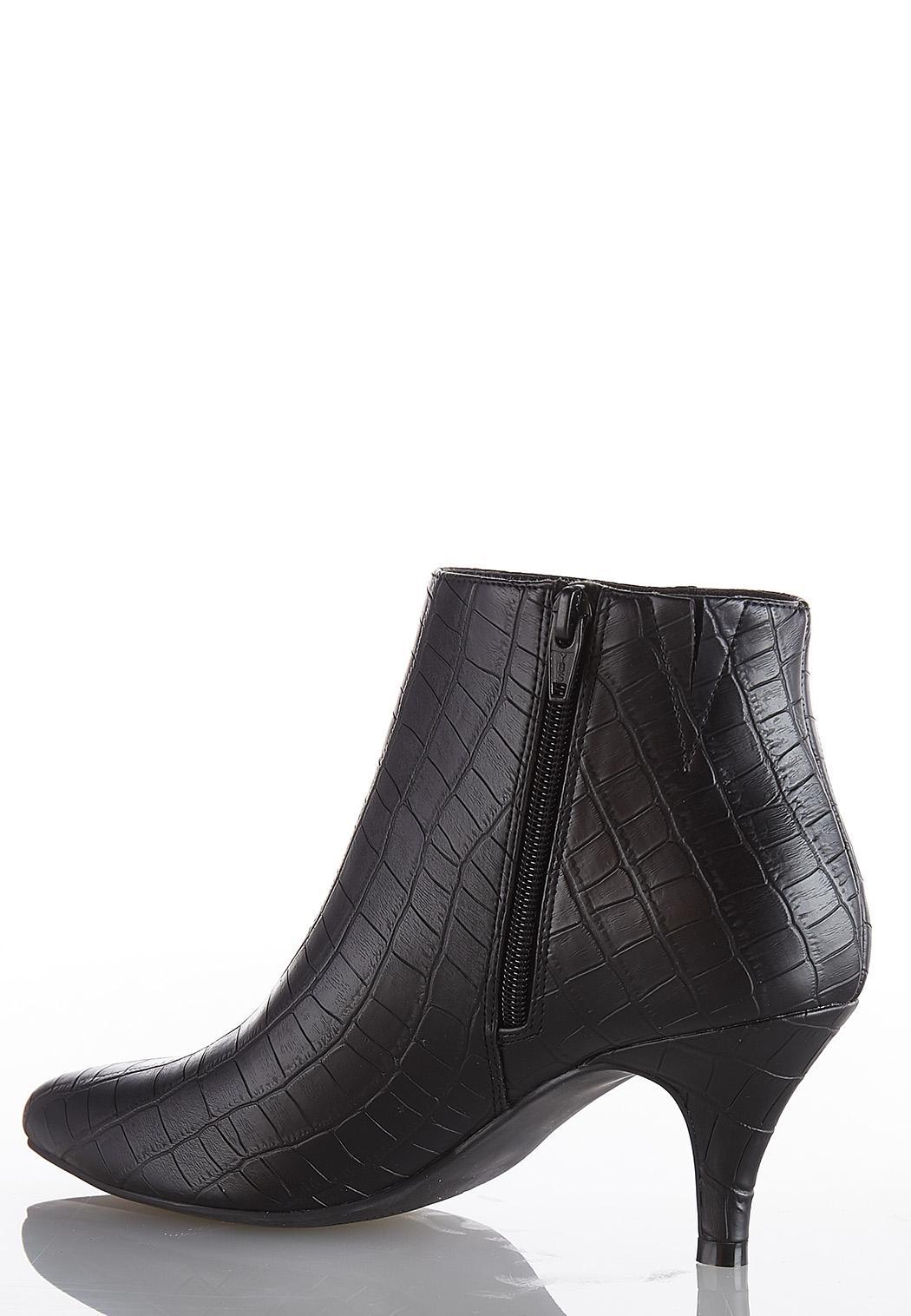 Wide Width Croc Booties (Item #44010927)