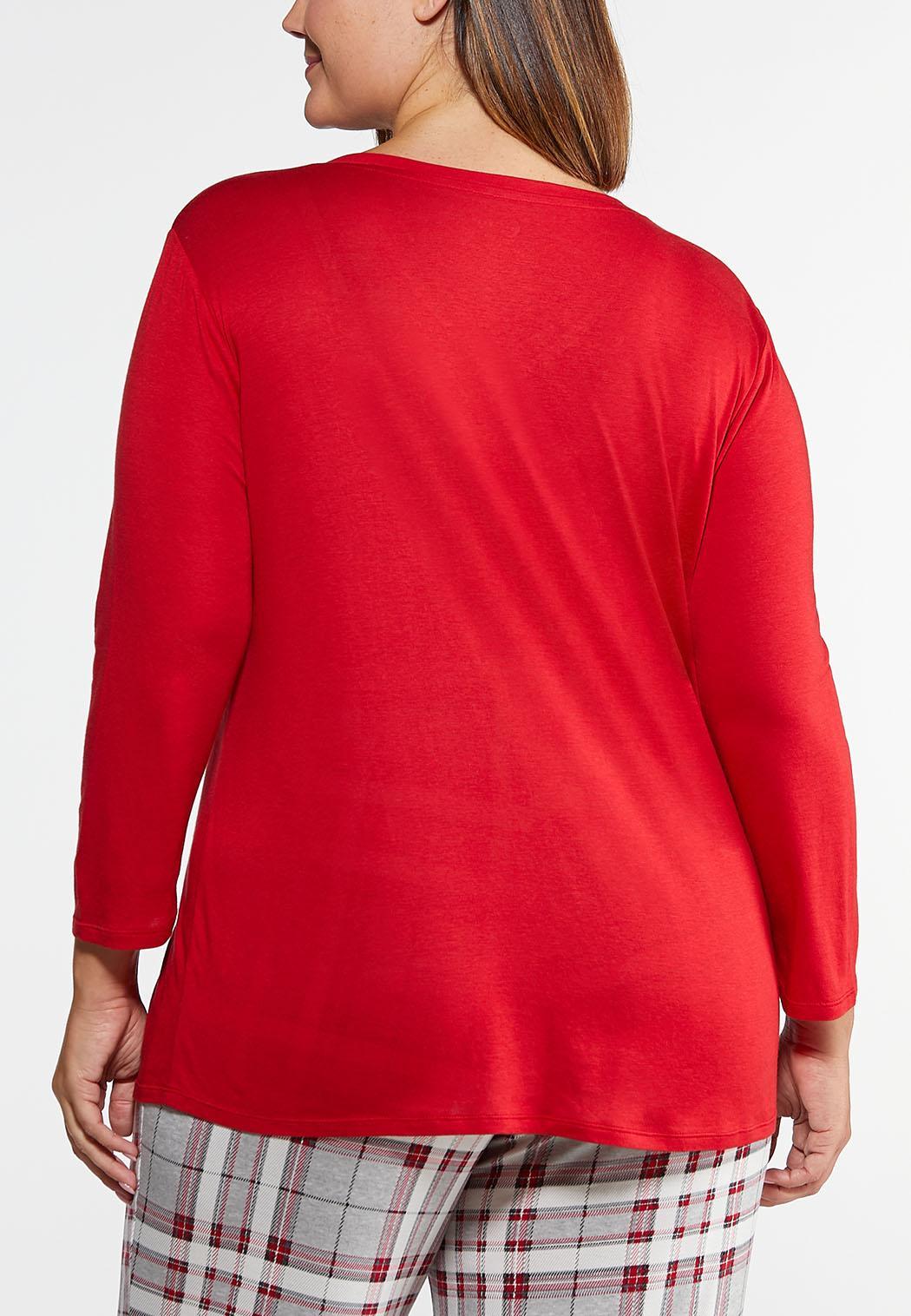 Plus Size Dear Bed Sleep Shirt (Item #44012953)