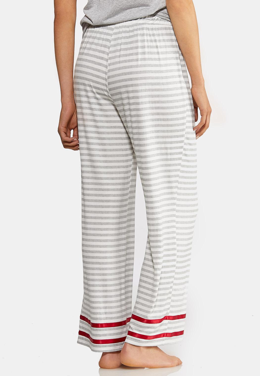 Gray Stripe Sleep Pants (Item #44013618)