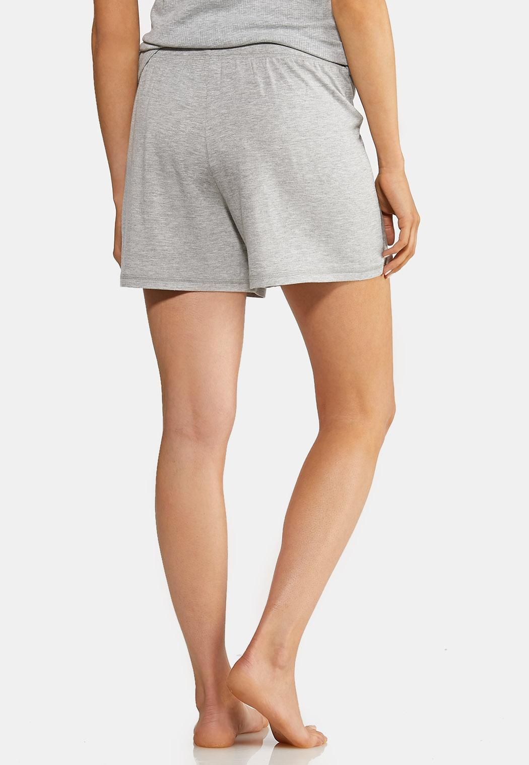 Gray French Terry Shorts (Item #44013777)