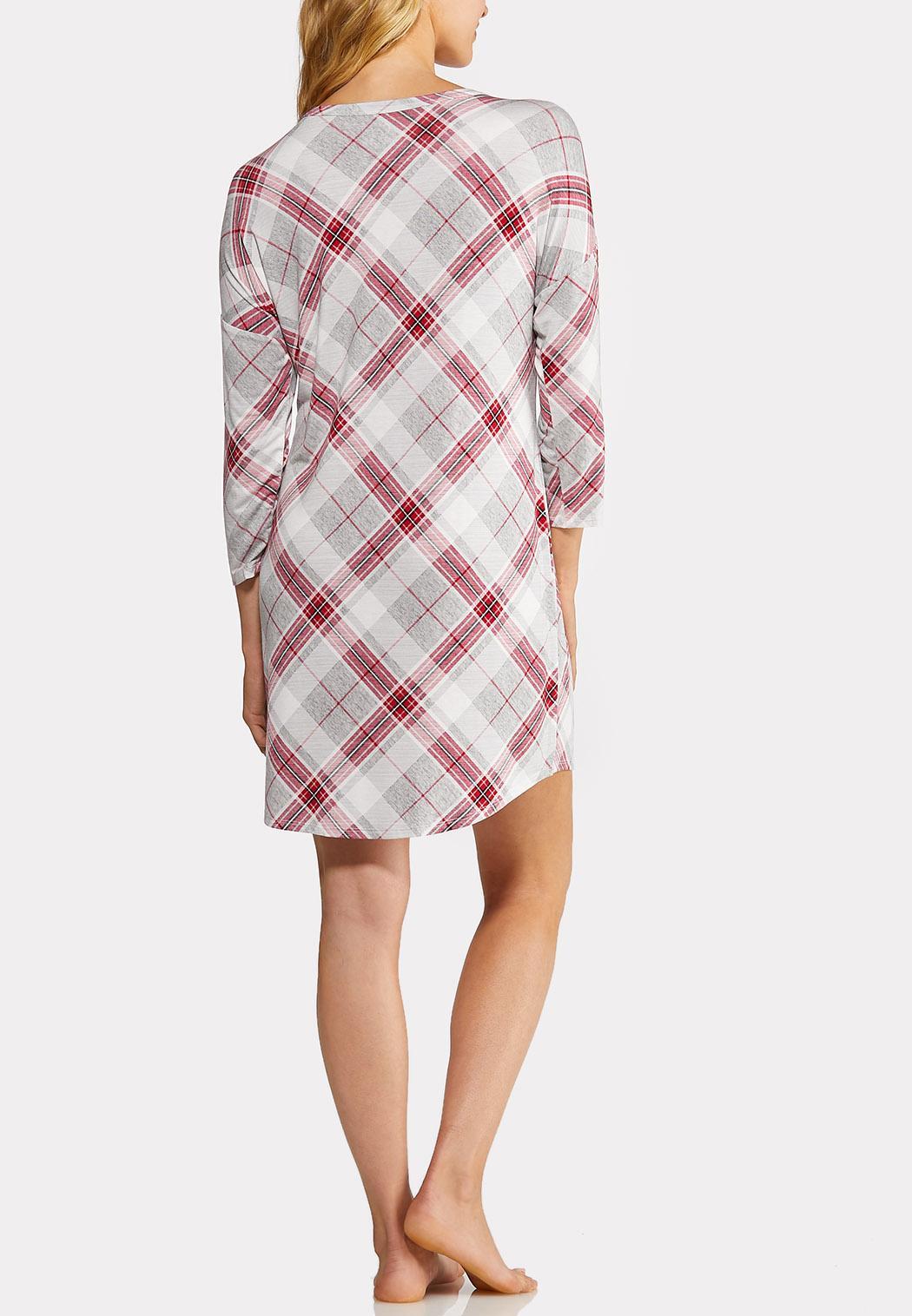 Plaid Sleep Shirt (Item #44013863)