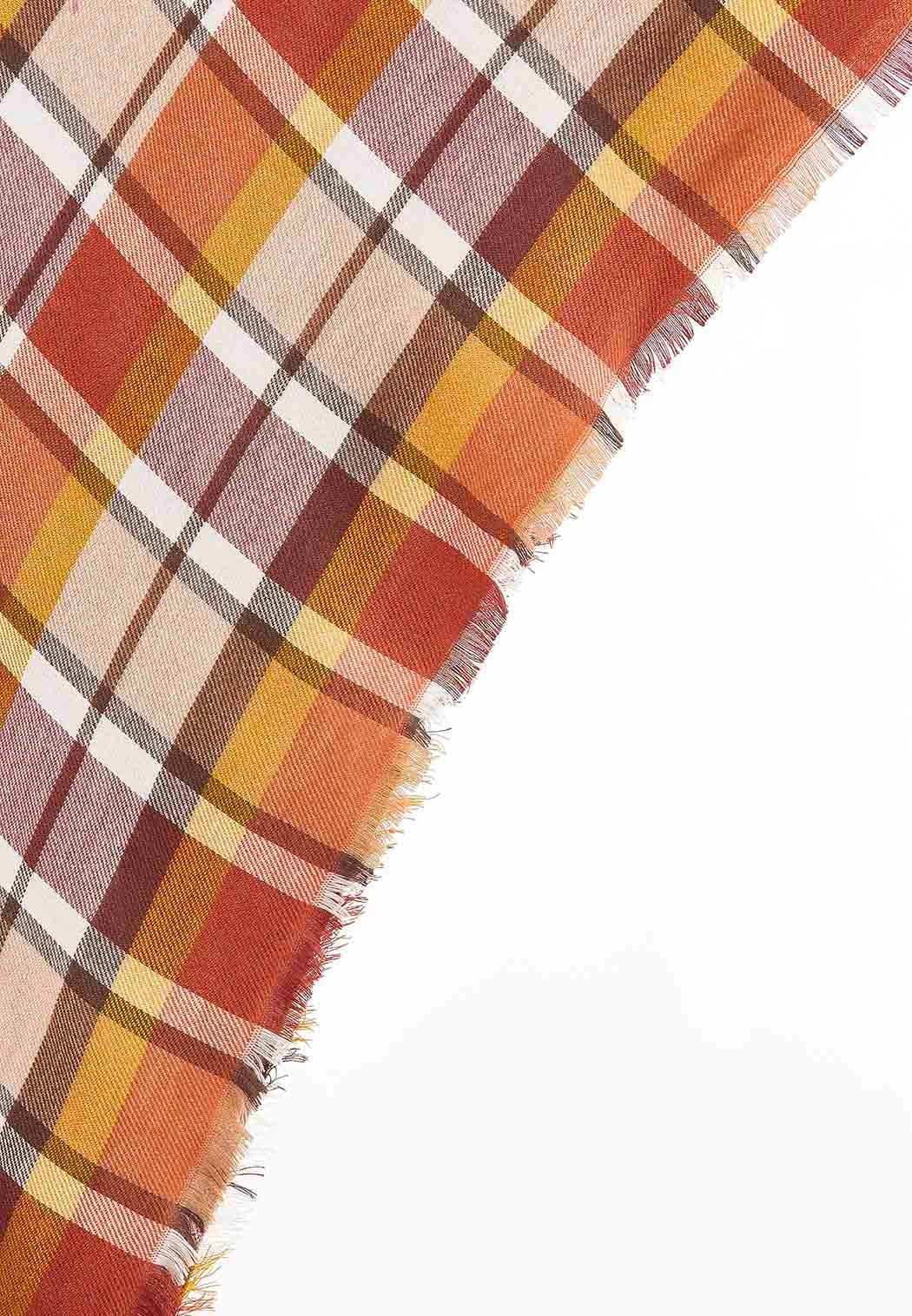 Plaid Triangle Scarf (Item #44013915)